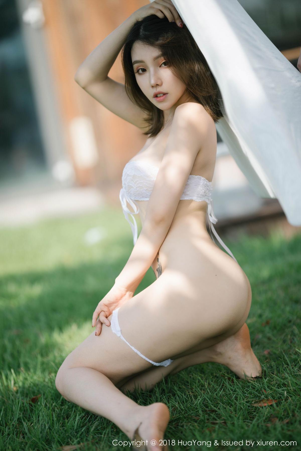 [Huayang] Vol.101 Huang Le Ran 33P, Black Silk, Huang Le Ran, HuaYang, Tall