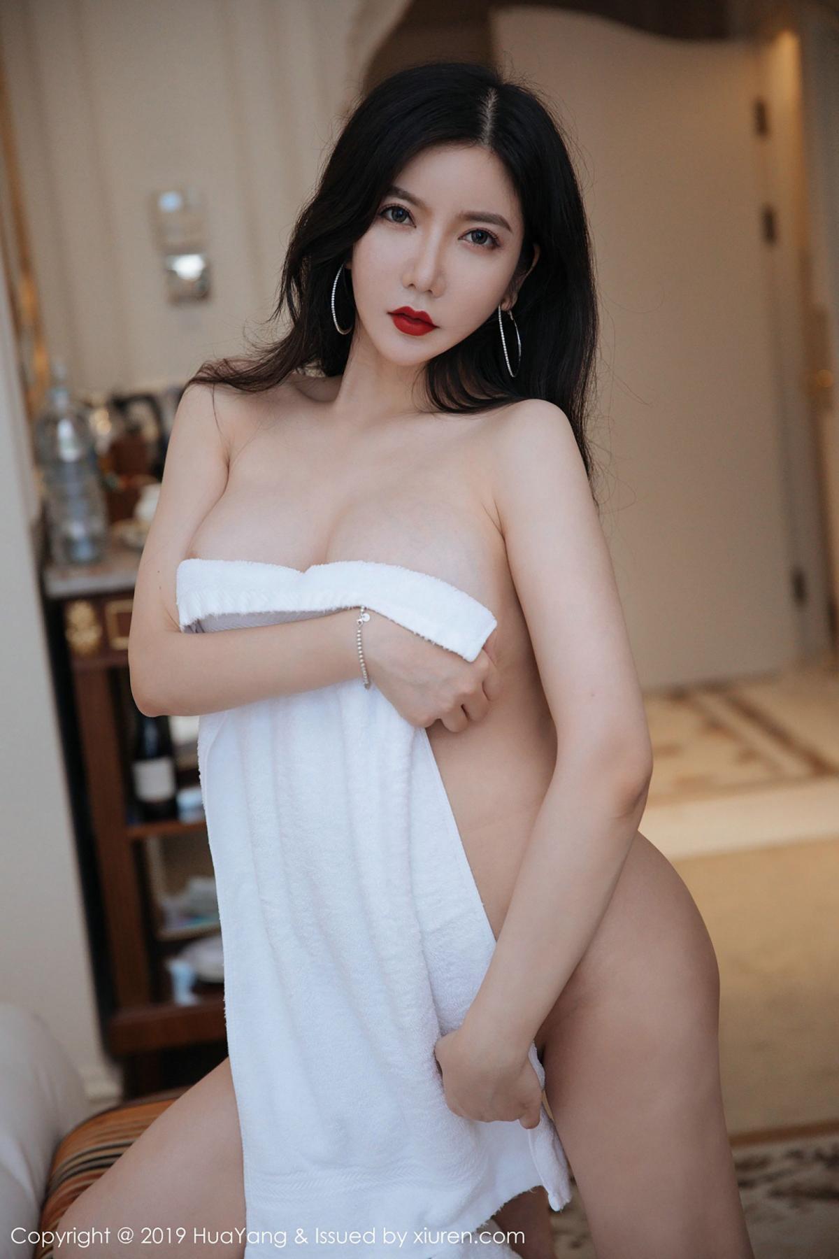 [Huayang] Vol.106 Li Yan Xi 8P, Black Silk, HuaYang, Li Yan Xi, Stewardess, Tall