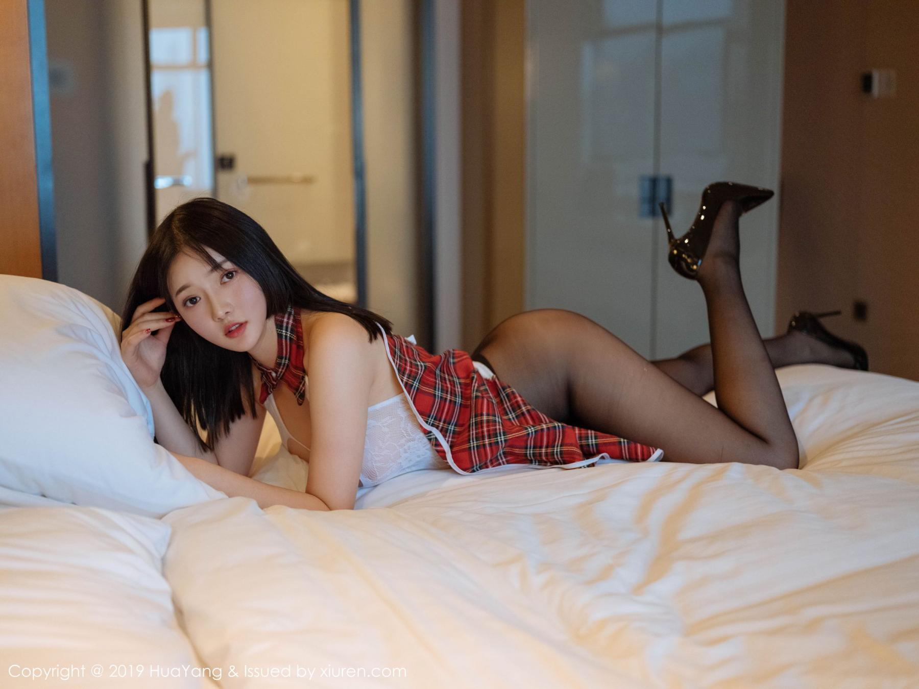 [Huayang] Vol.117 Tang Wan Er 34P, Adult, Black Silk, HuaYang, Sexy, Tang Wan Er