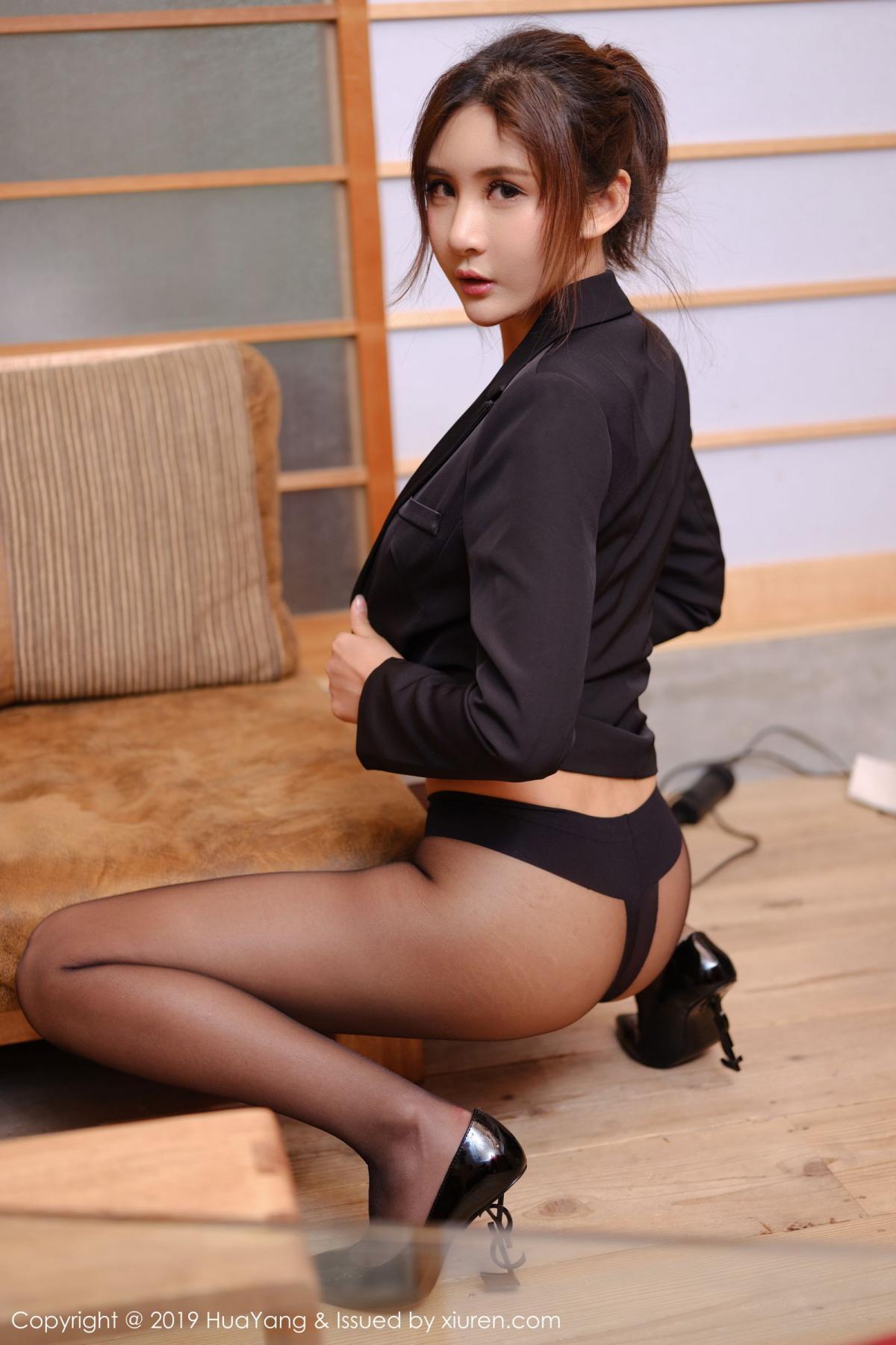 [Huayang] Vol.119 Solo Yi Fei 23P, Black Silk, HuaYang, Solo Yi Fei