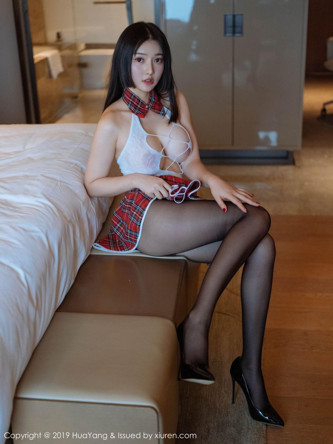 [Huayang] Vol.122 Bride Tang Wan Er 10P, HuaYang, Tang Wan Er, Underwear