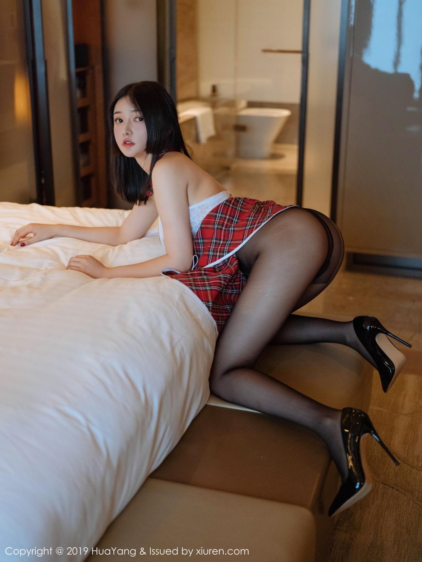 [Huayang] Vol.122 Bride Tang Wan Er 17P, HuaYang, Tang Wan Er, Underwear