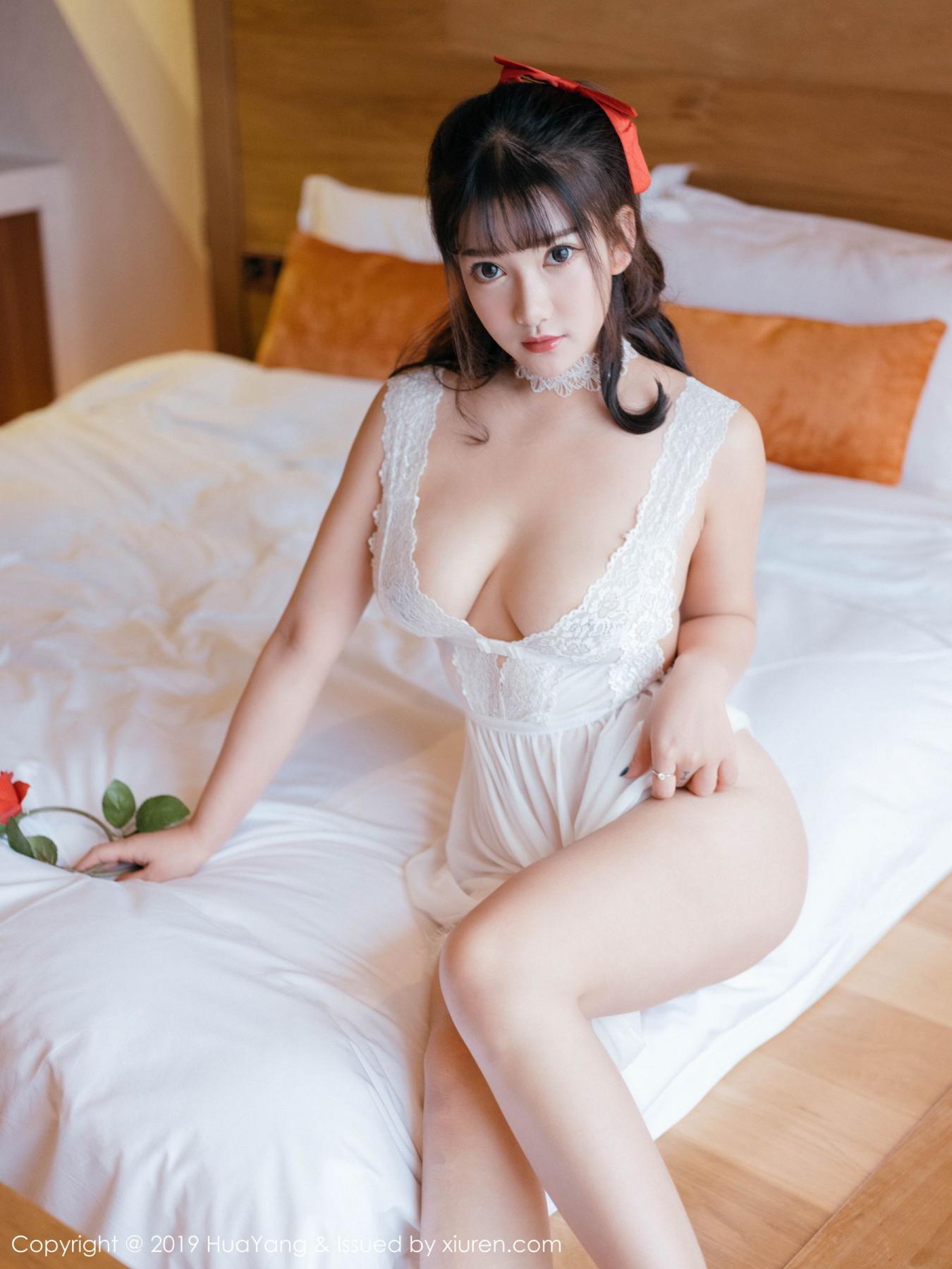 [Huayang] Vol.123 Xiao You Nai 3P, Adult, Baby Face Big Boobs, HuaYang, Lu Lu Xiao Miao