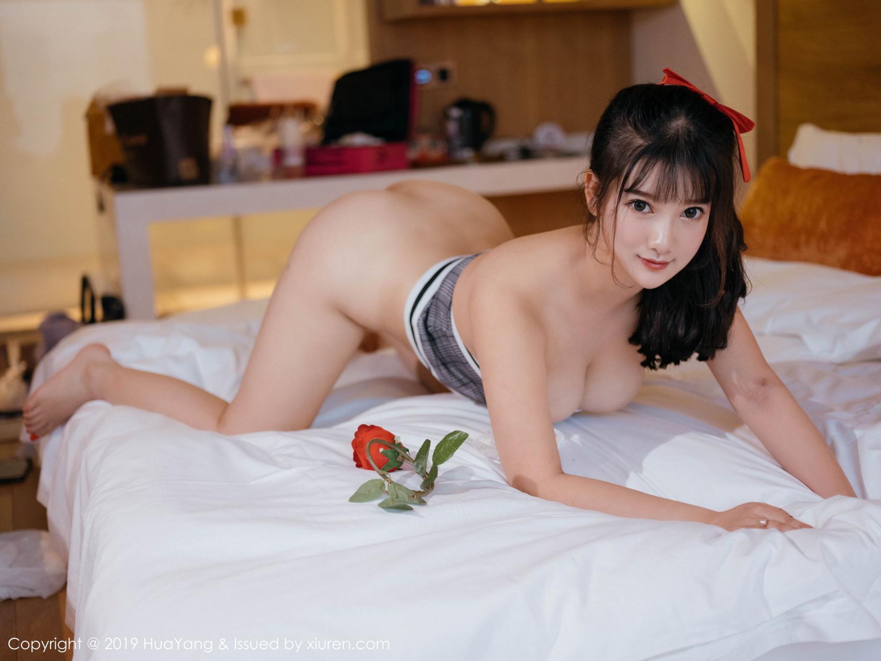 [Huayang] Vol.123 Xiao You Nai 7P, Adult, Baby Face Big Boobs, HuaYang, Lu Lu Xiao Miao