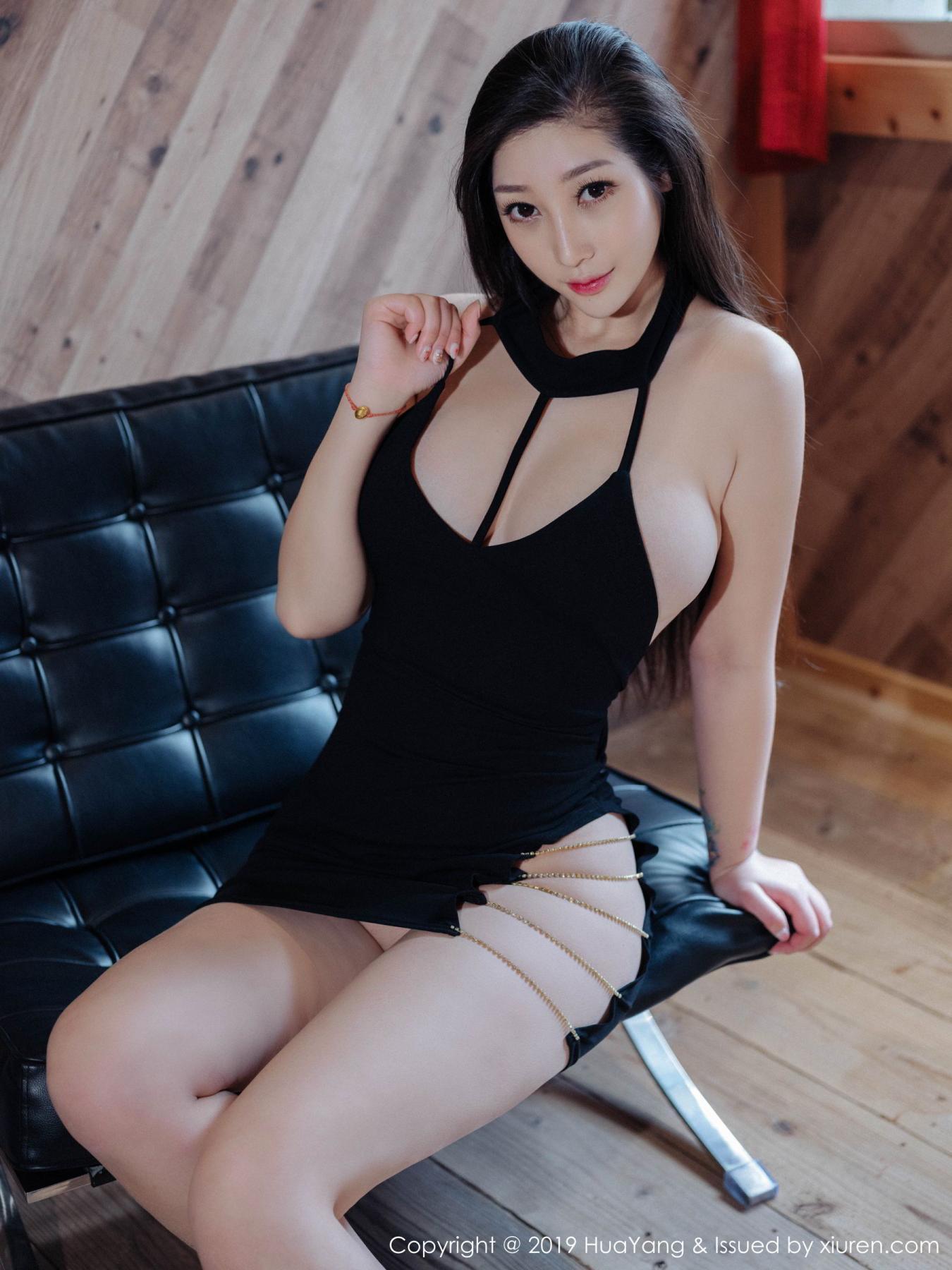 [Huayang] Vol.129 Da Ji Toxic 11P, Big Booty, Da Ji Toxic, HuaYang