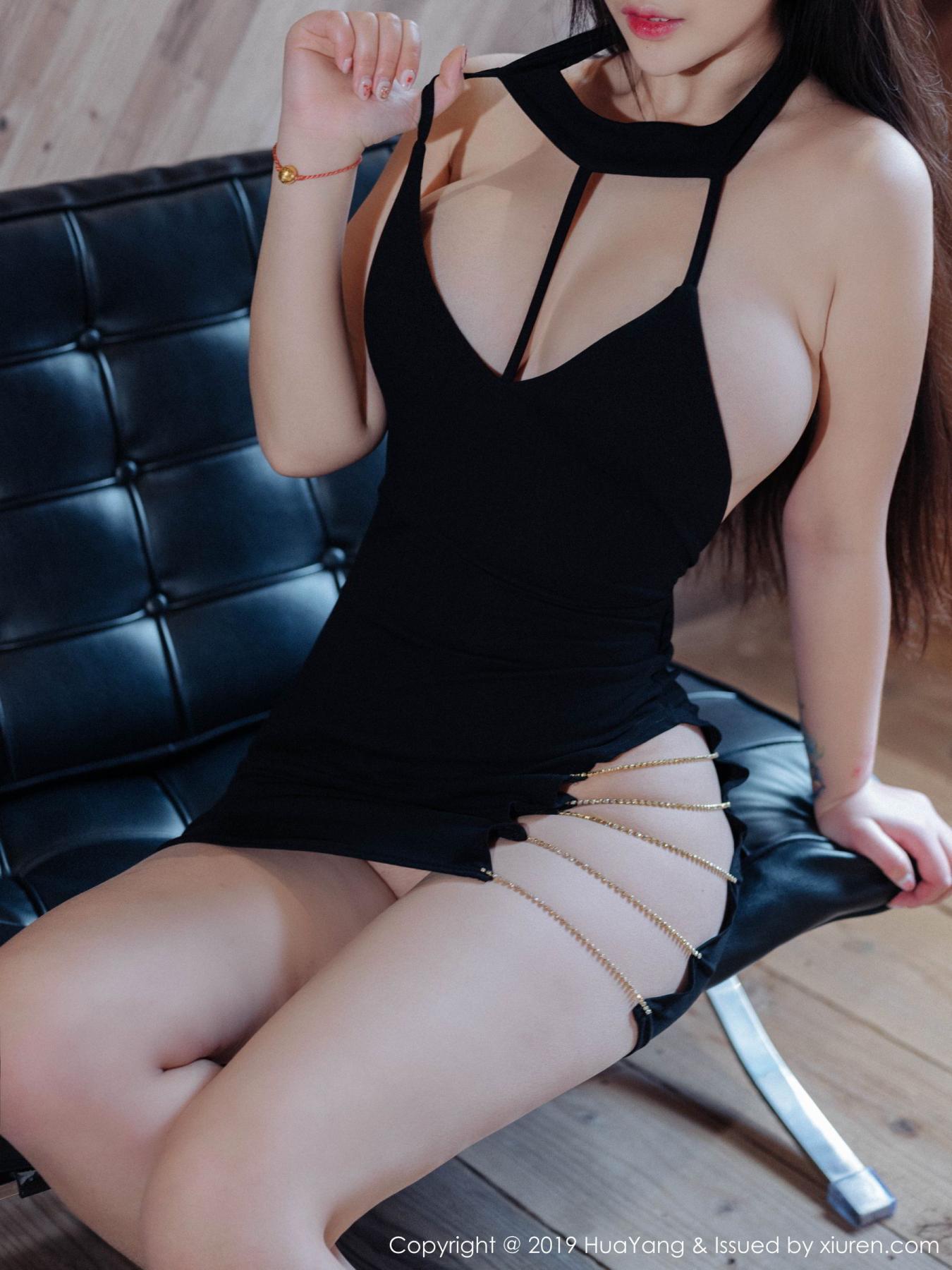 [Huayang] Vol.129 Da Ji Toxic 12P, Big Booty, Da Ji Toxic, HuaYang