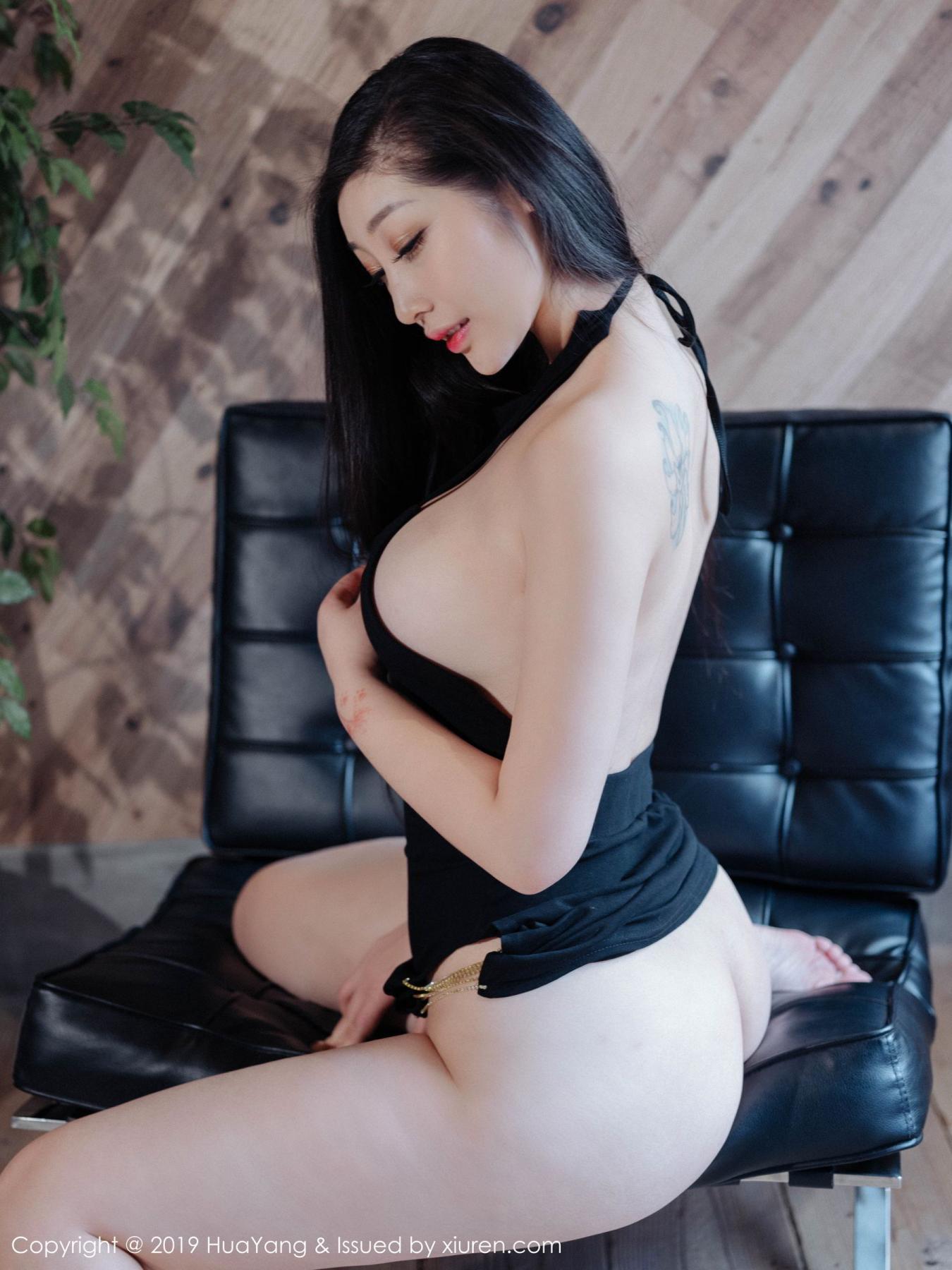 [Huayang] Vol.129 Da Ji Toxic 18P, Big Booty, Da Ji Toxic, HuaYang