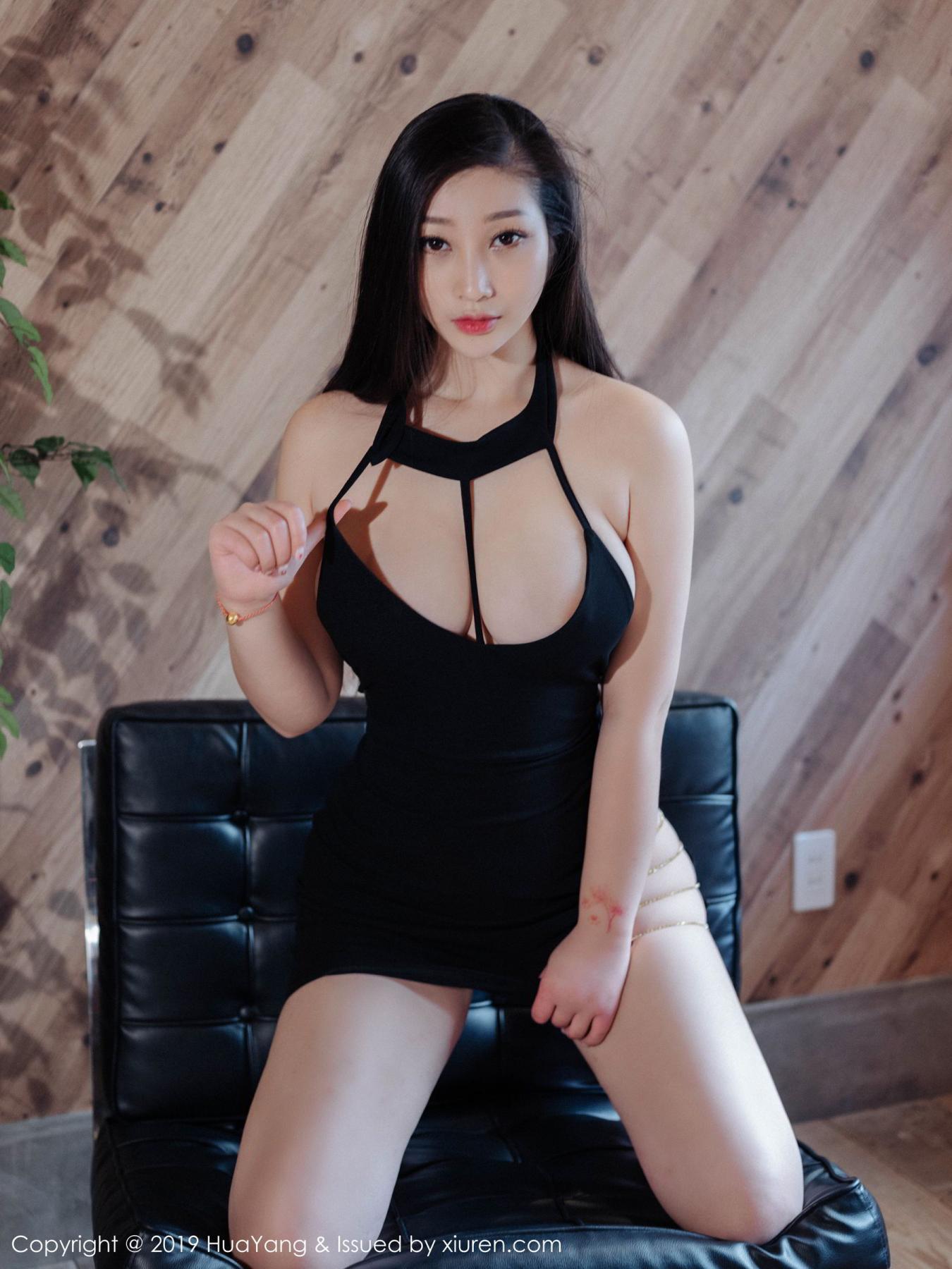 [Huayang] Vol.129 Da Ji Toxic 19P, Big Booty, Da Ji Toxic, HuaYang