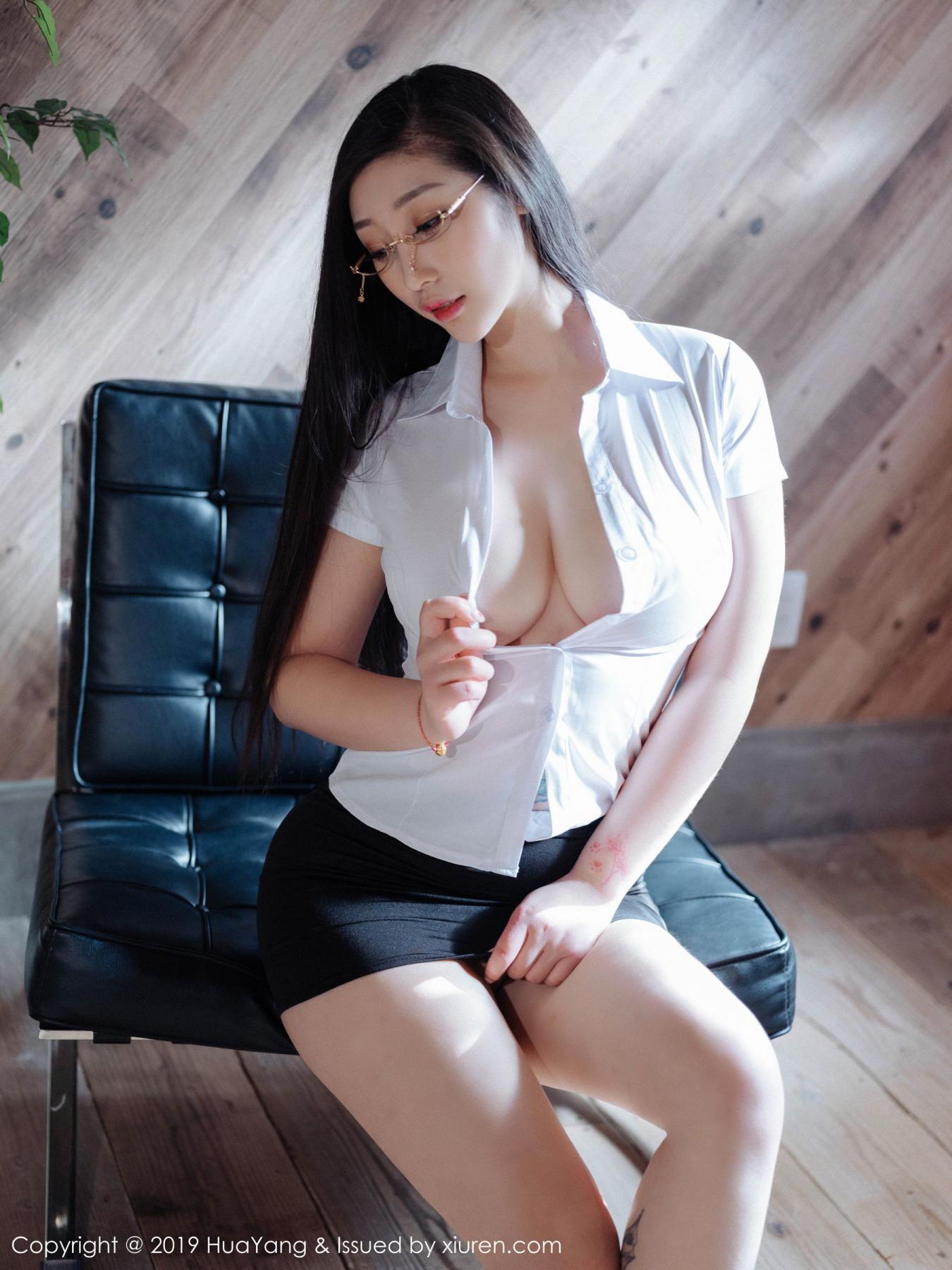 [Huayang] Vol.129 Da Ji Toxic 28P, Big Booty, Da Ji Toxic, HuaYang