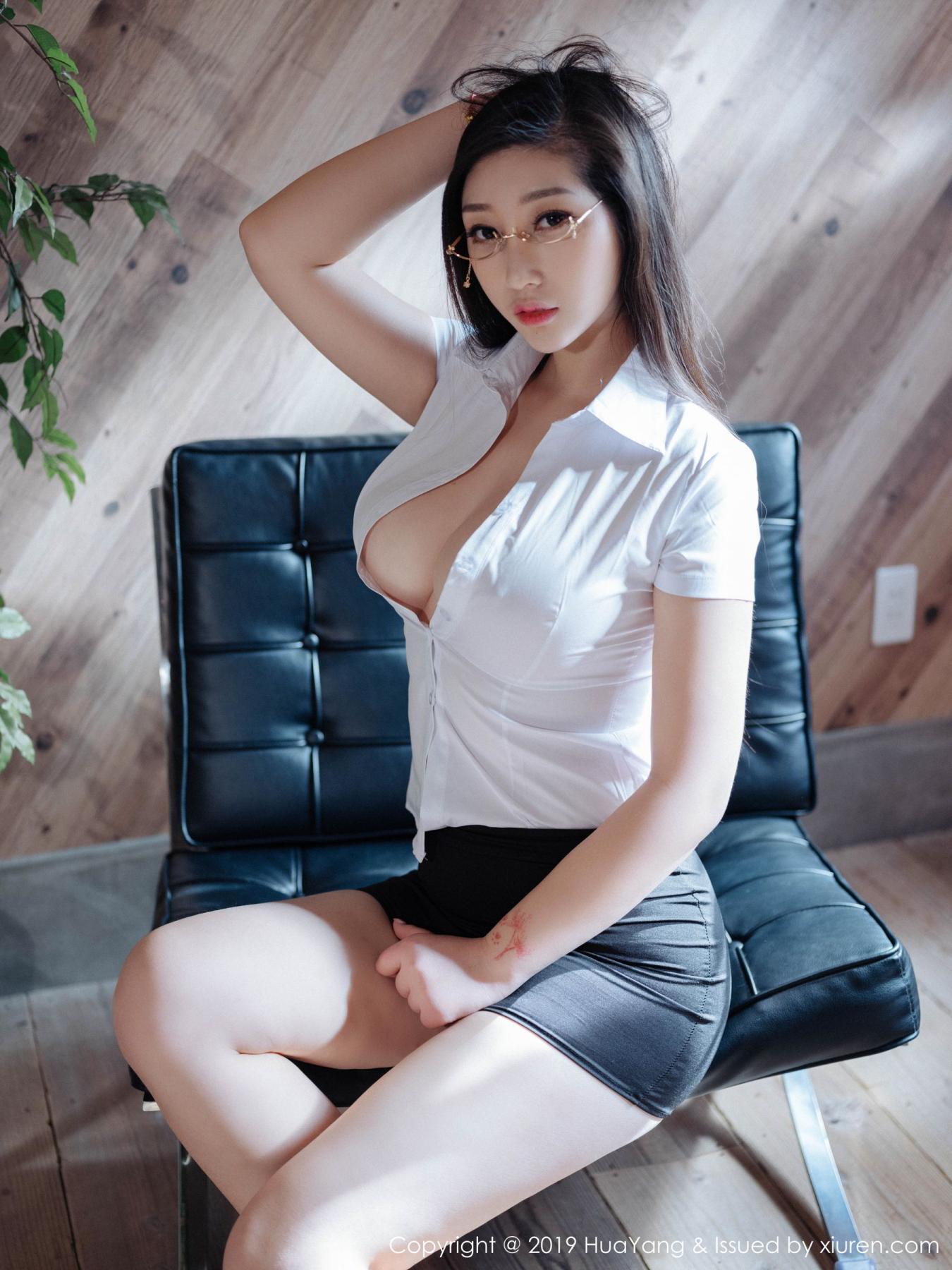 [Huayang] Vol.129 Da Ji Toxic 29P, Big Booty, Da Ji Toxic, HuaYang