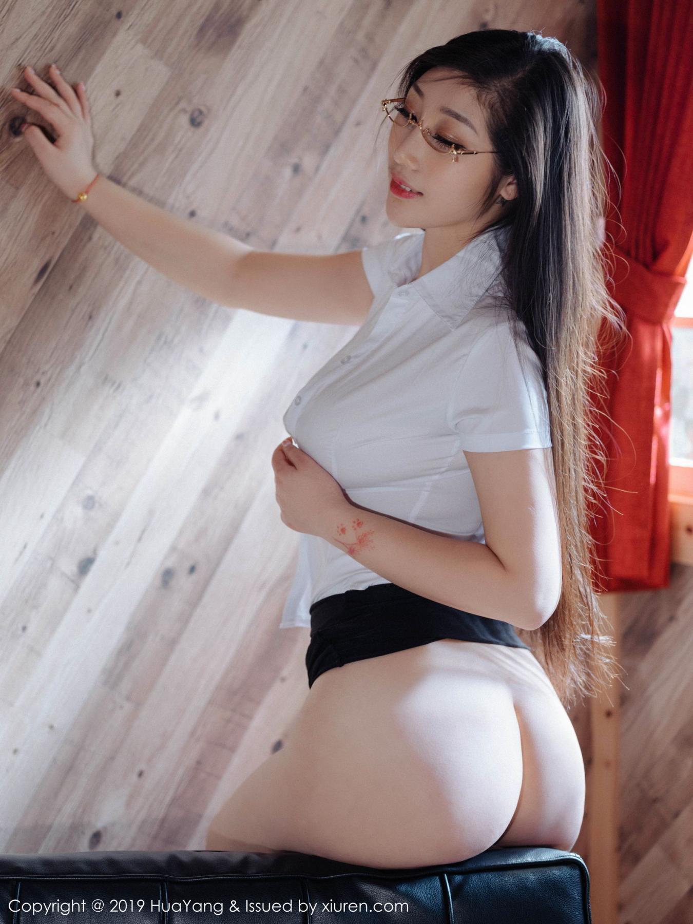 [Huayang] Vol.129 Da Ji Toxic 2P, Big Booty, Da Ji Toxic, HuaYang