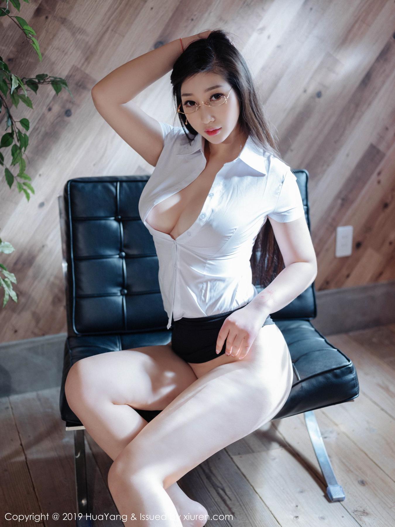 [Huayang] Vol.129 Da Ji Toxic 31P, Big Booty, Da Ji Toxic, HuaYang