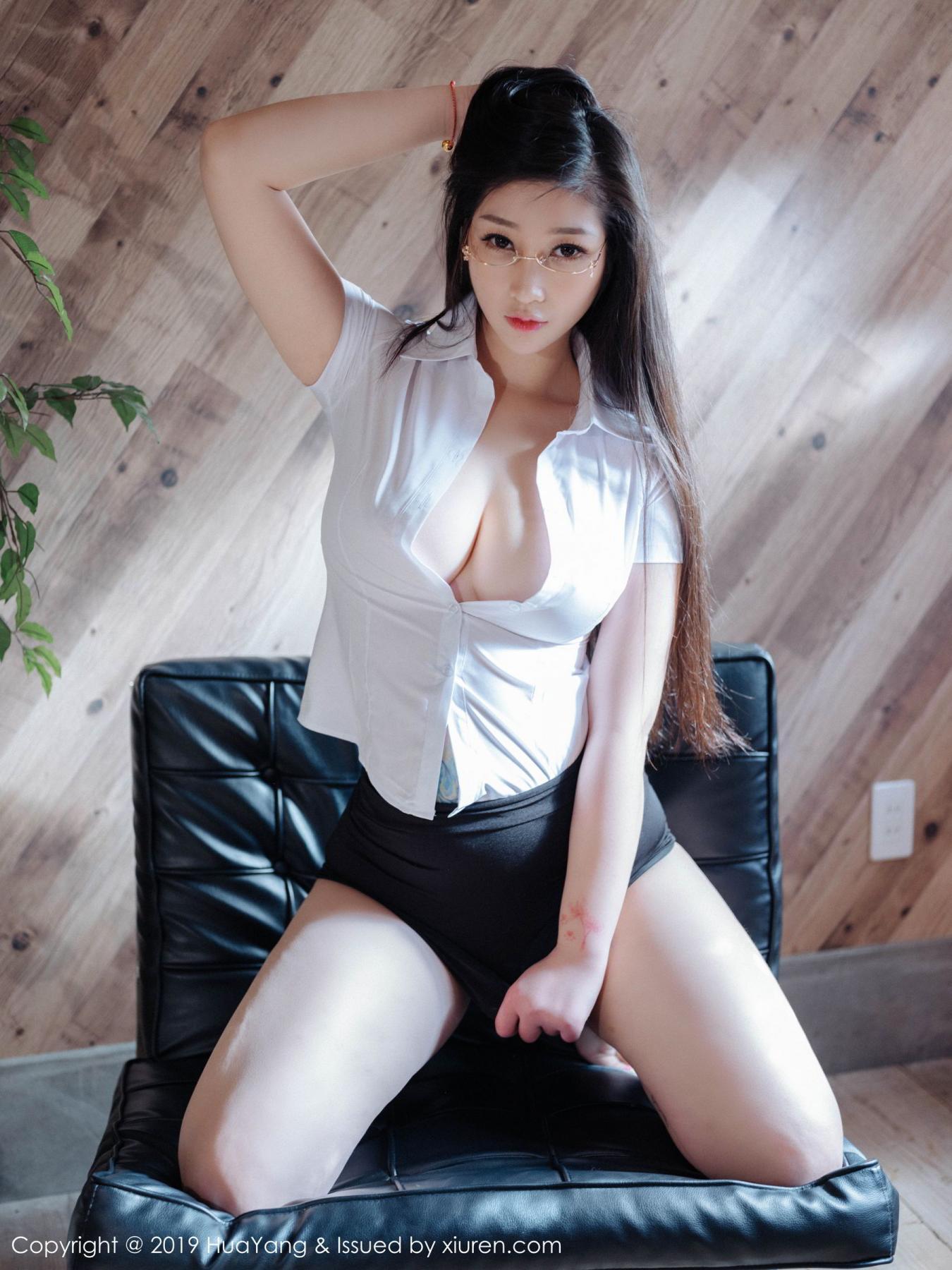 [Huayang] Vol.129 Da Ji Toxic 33P, Big Booty, Da Ji Toxic, HuaYang