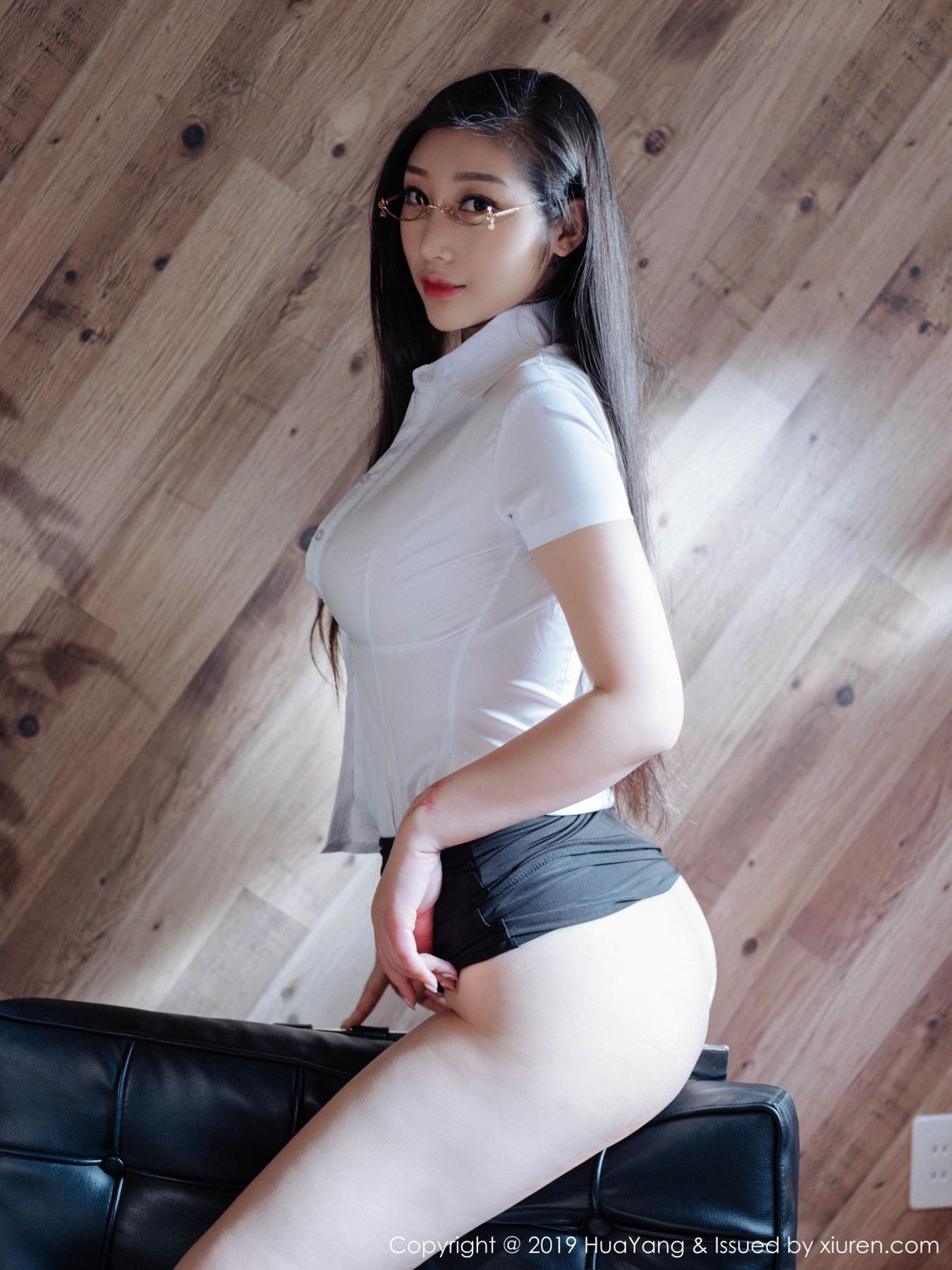 [Huayang] Vol.129 Da Ji Toxic 34P, Big Booty, Da Ji Toxic, HuaYang
