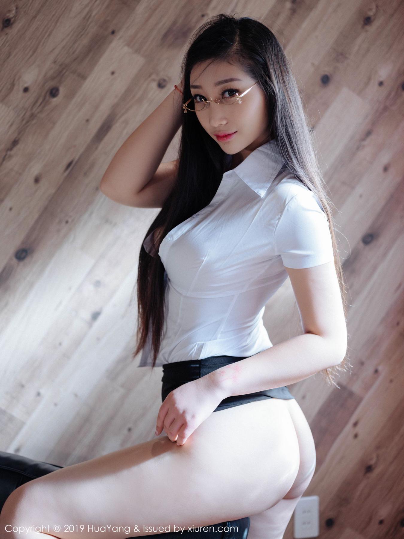 [Huayang] Vol.129 Da Ji Toxic 37P, Big Booty, Da Ji Toxic, HuaYang