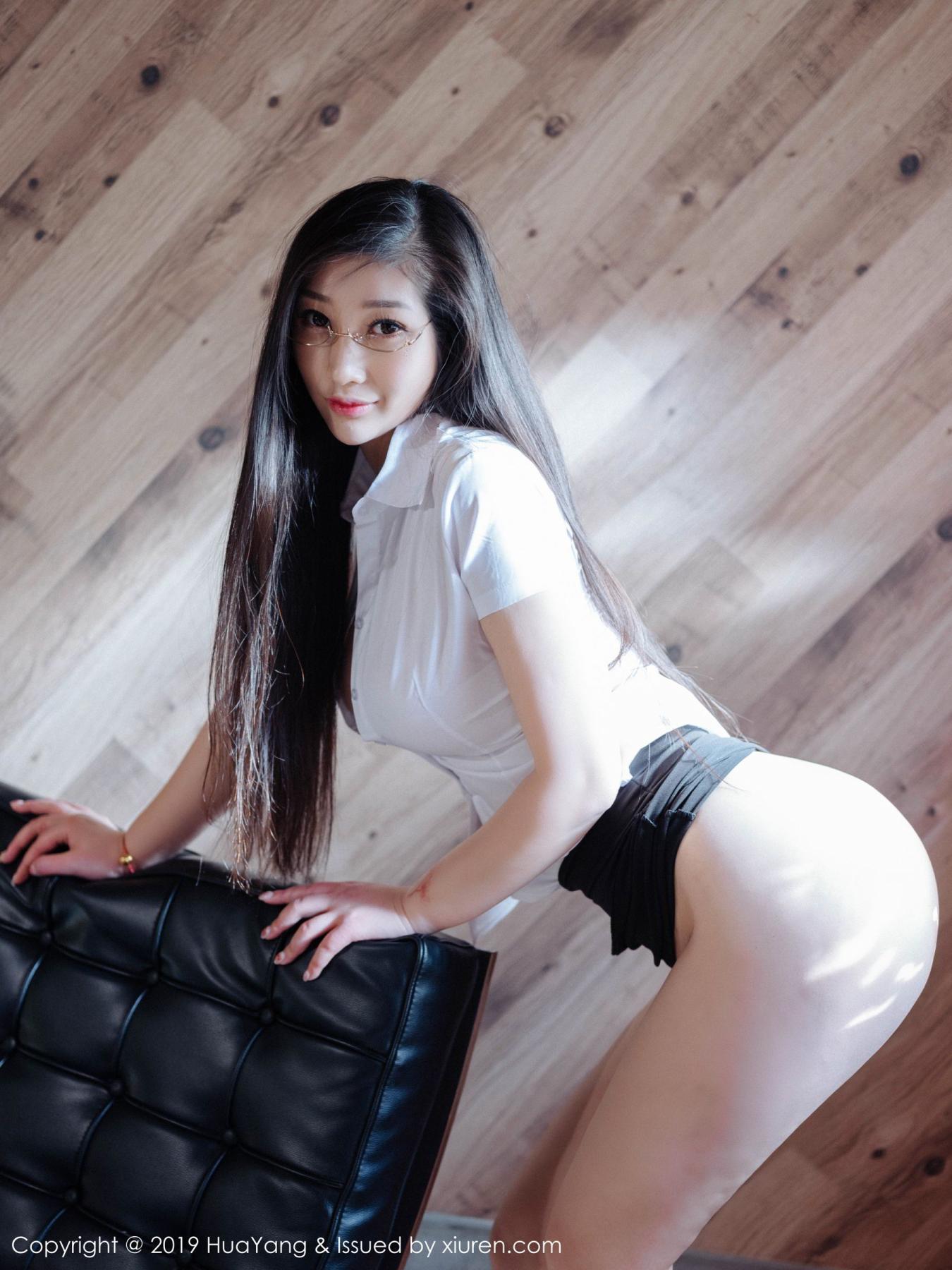[Huayang] Vol.129 Da Ji Toxic 38P, Big Booty, Da Ji Toxic, HuaYang