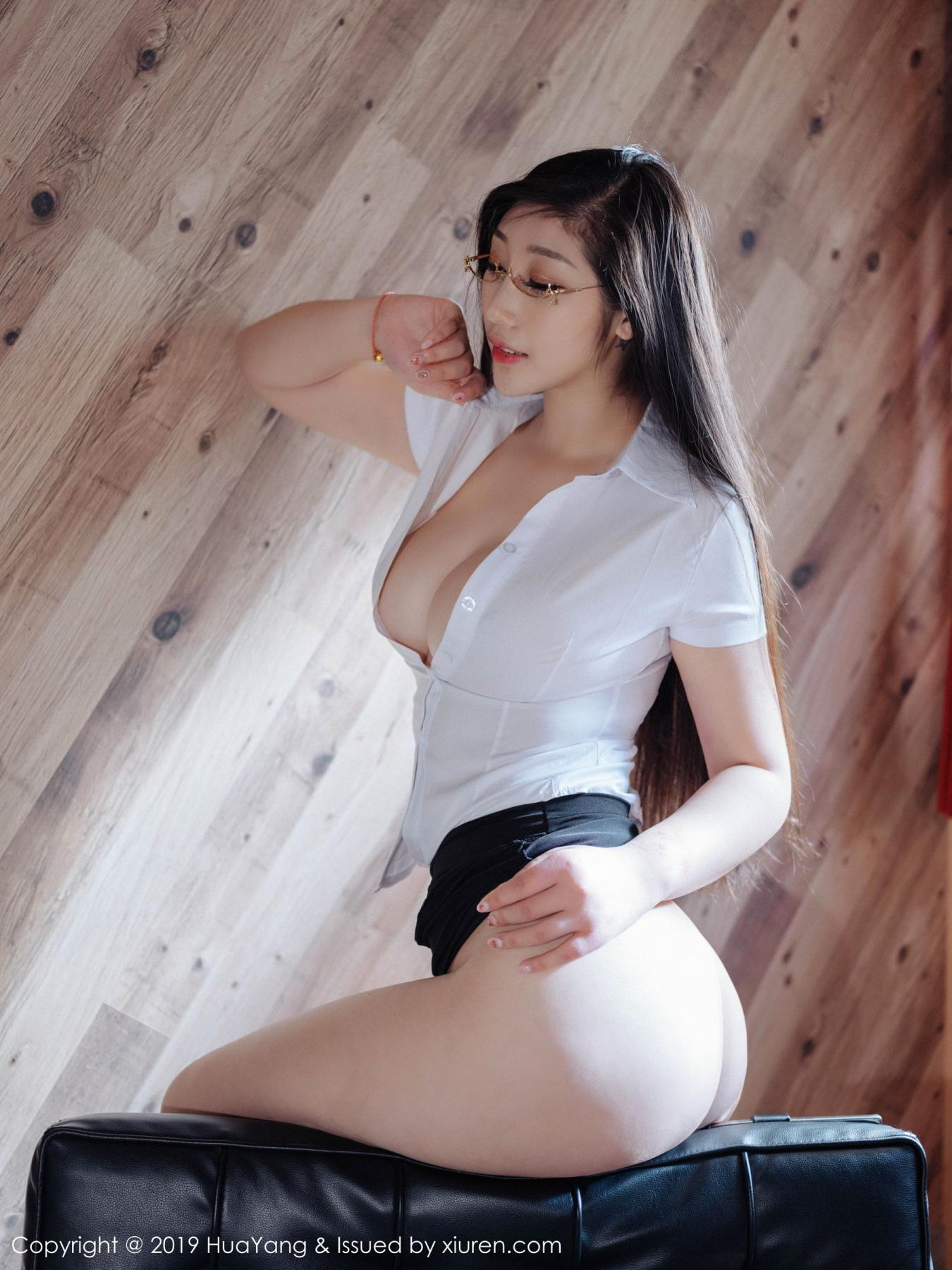 [Huayang] Vol.129 Da Ji Toxic 42P, Big Booty, Da Ji Toxic, HuaYang