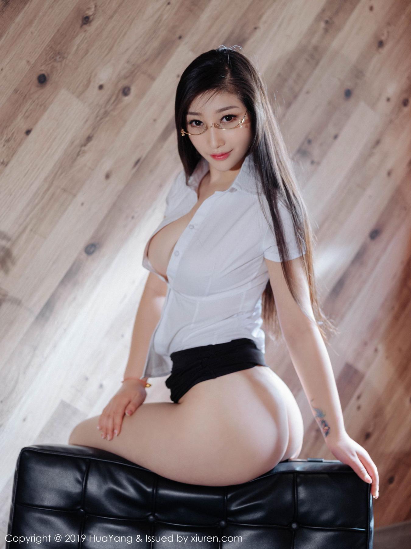 [Huayang] Vol.129 Da Ji Toxic 43P, Big Booty, Da Ji Toxic, HuaYang