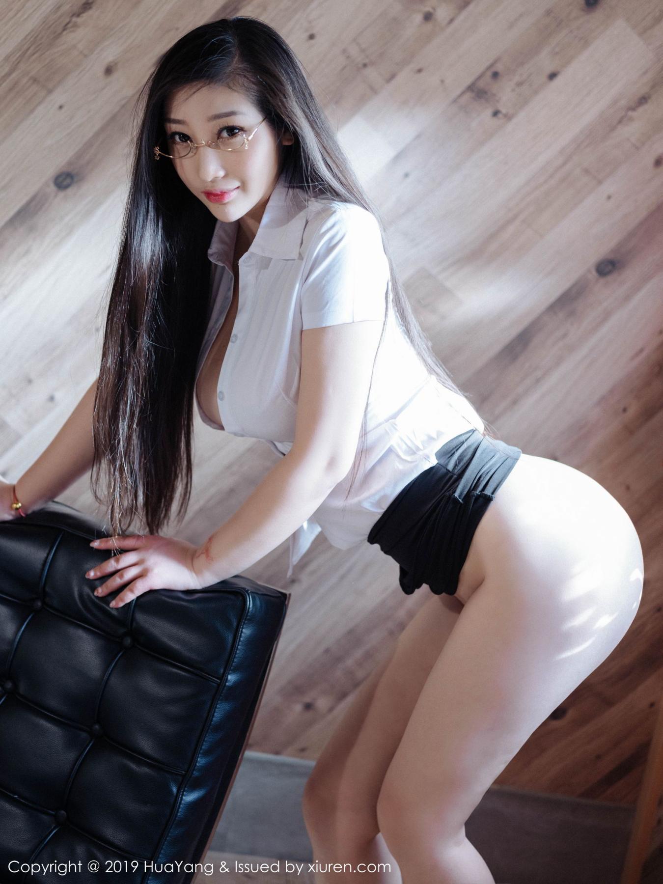 [Huayang] Vol.129 Da Ji Toxic 4P, Big Booty, Da Ji Toxic, HuaYang