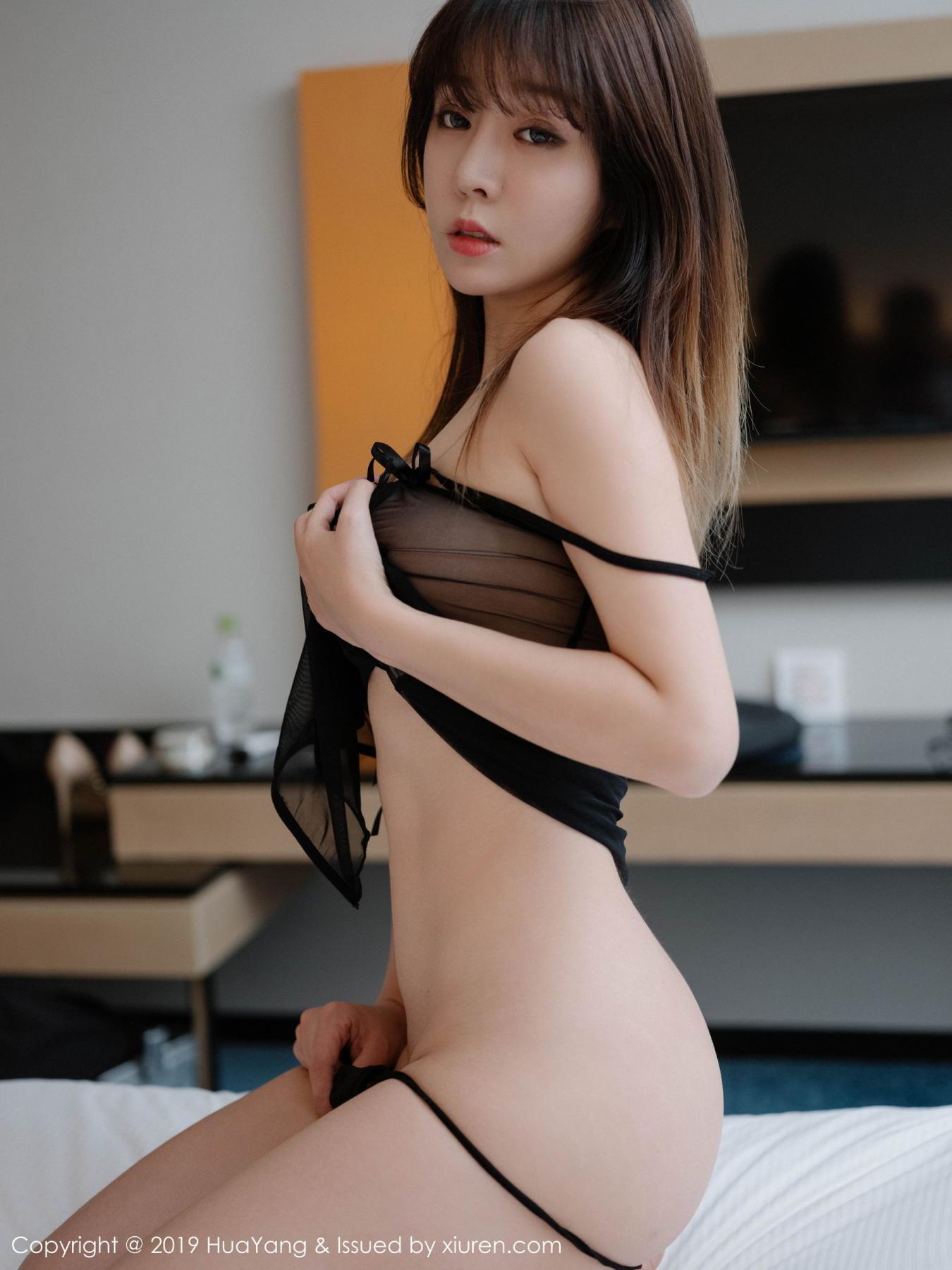 [Huayang] Vol.130 Wang Yu Chun 16P, Black Silk, HuaYang, Wang Yu Chun
