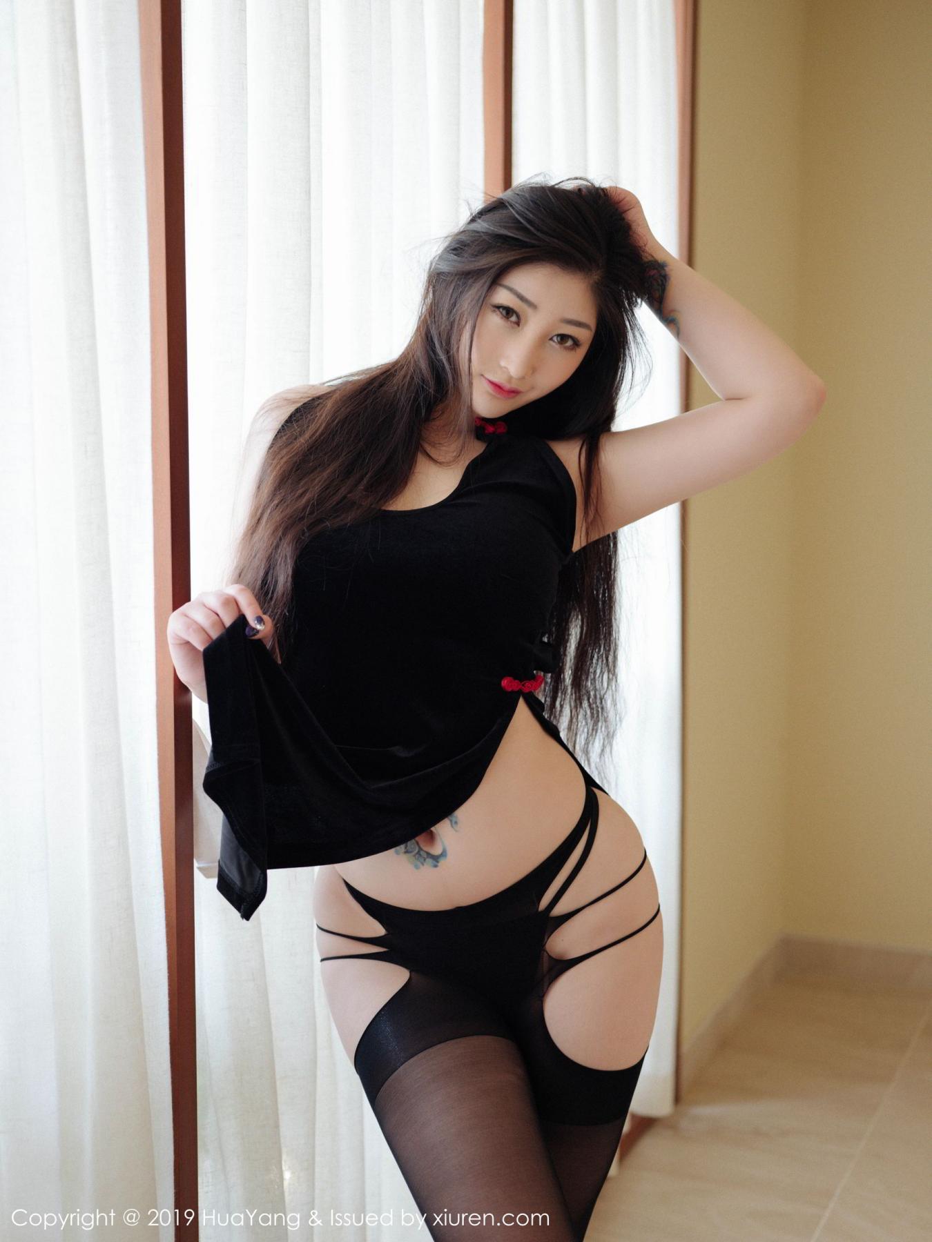 [Huayang] Vol.132 Da Ji Toxic 15P, Adult, Big Booty, Da Ji Toxic, HuaYang, Underwear
