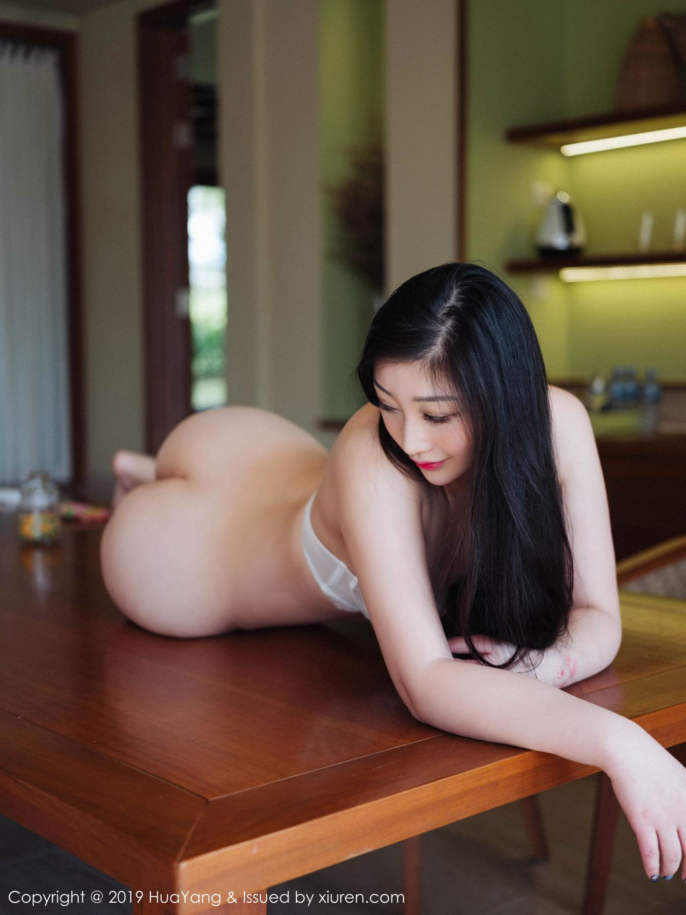 [Huayang] Vol.132 Da Ji Toxic 18P, Adult, Big Booty, Da Ji Toxic, HuaYang, Underwear