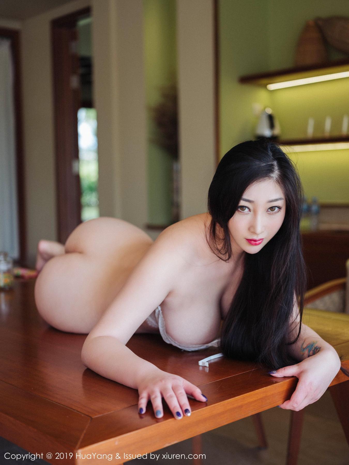 [Huayang] Vol.132 Da Ji Toxic 19P, Adult, Big Booty, Da Ji Toxic, HuaYang, Underwear