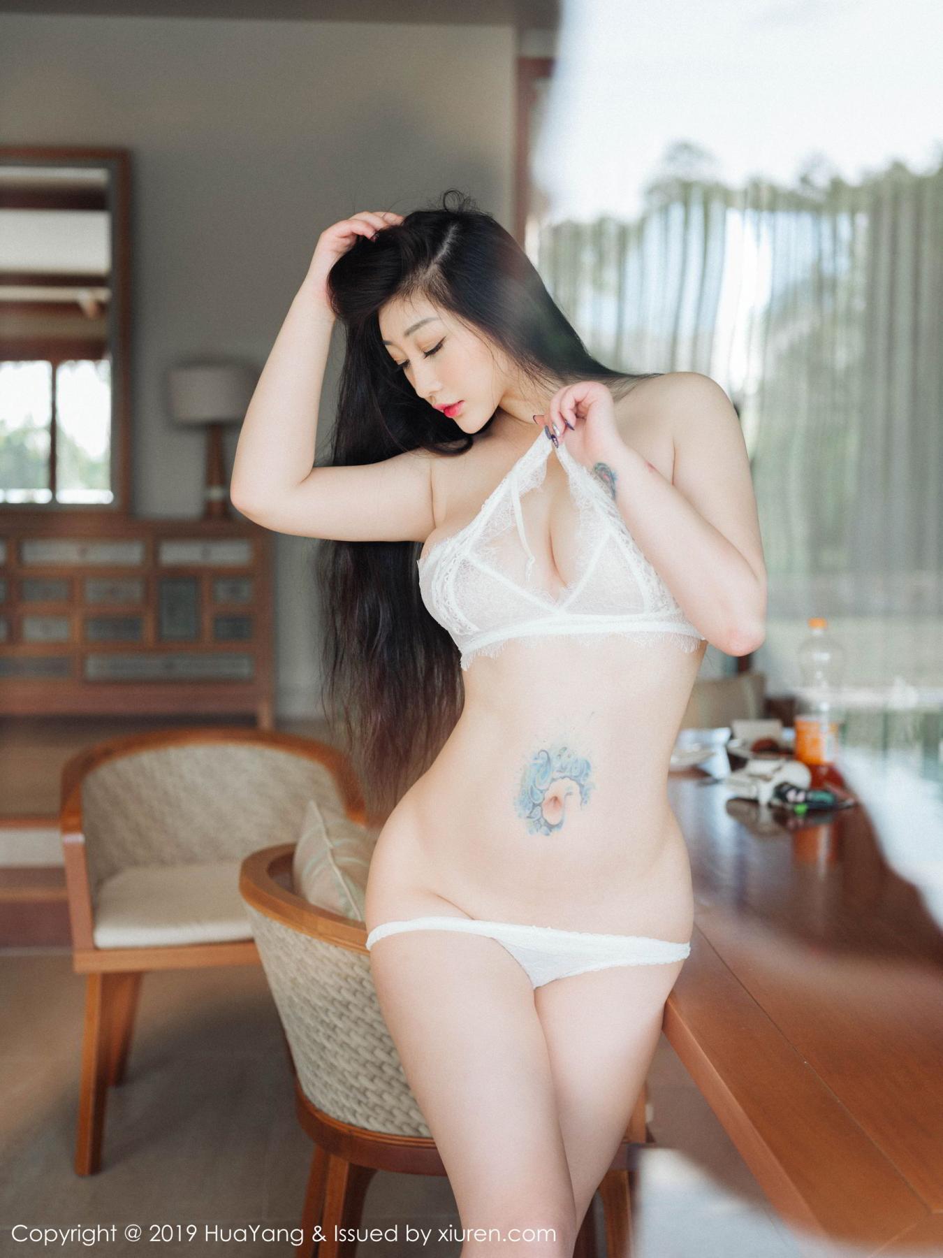[Huayang] Vol.132 Da Ji Toxic 24P, Adult, Big Booty, Da Ji Toxic, HuaYang, Underwear
