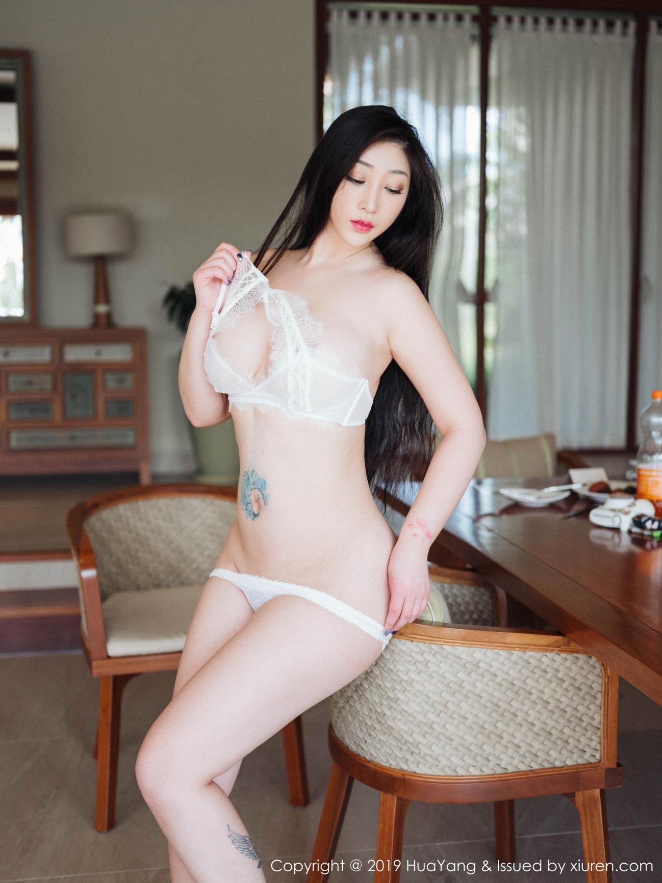 [Huayang] Vol.132 Da Ji Toxic 26P, Adult, Big Booty, Da Ji Toxic, HuaYang, Underwear