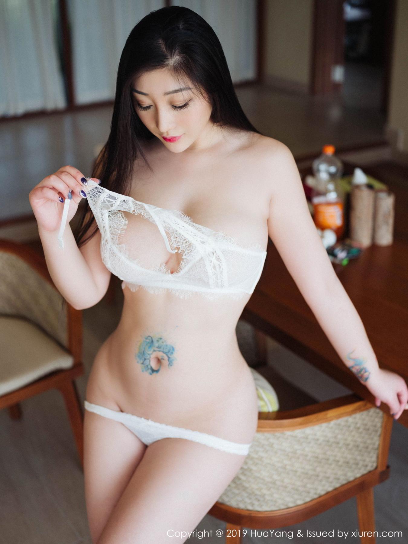 [Huayang] Vol.132 Da Ji Toxic 28P, Adult, Big Booty, Da Ji Toxic, HuaYang, Underwear