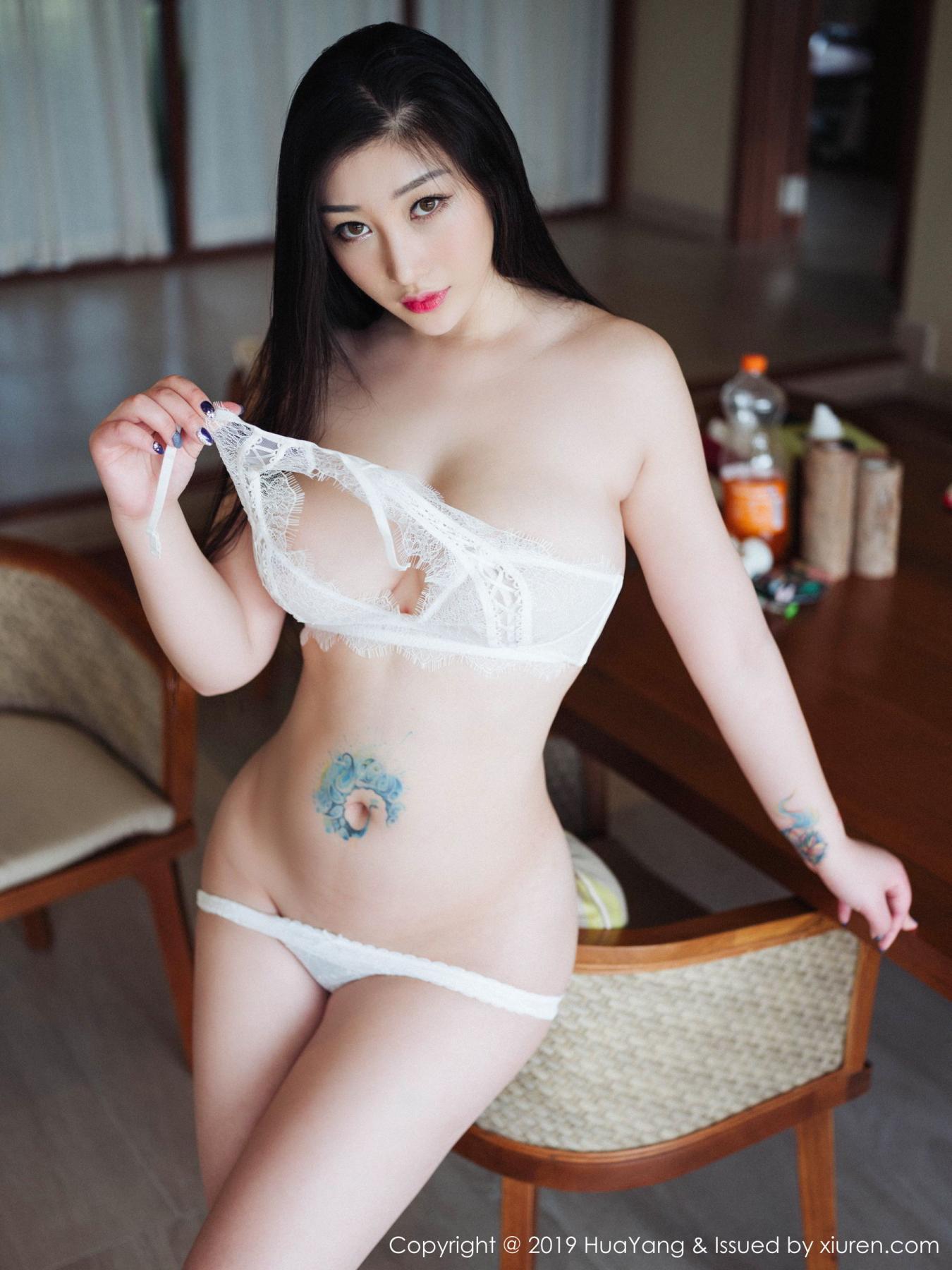 [Huayang] Vol.132 Da Ji Toxic 29P, Adult, Big Booty, Da Ji Toxic, HuaYang, Underwear