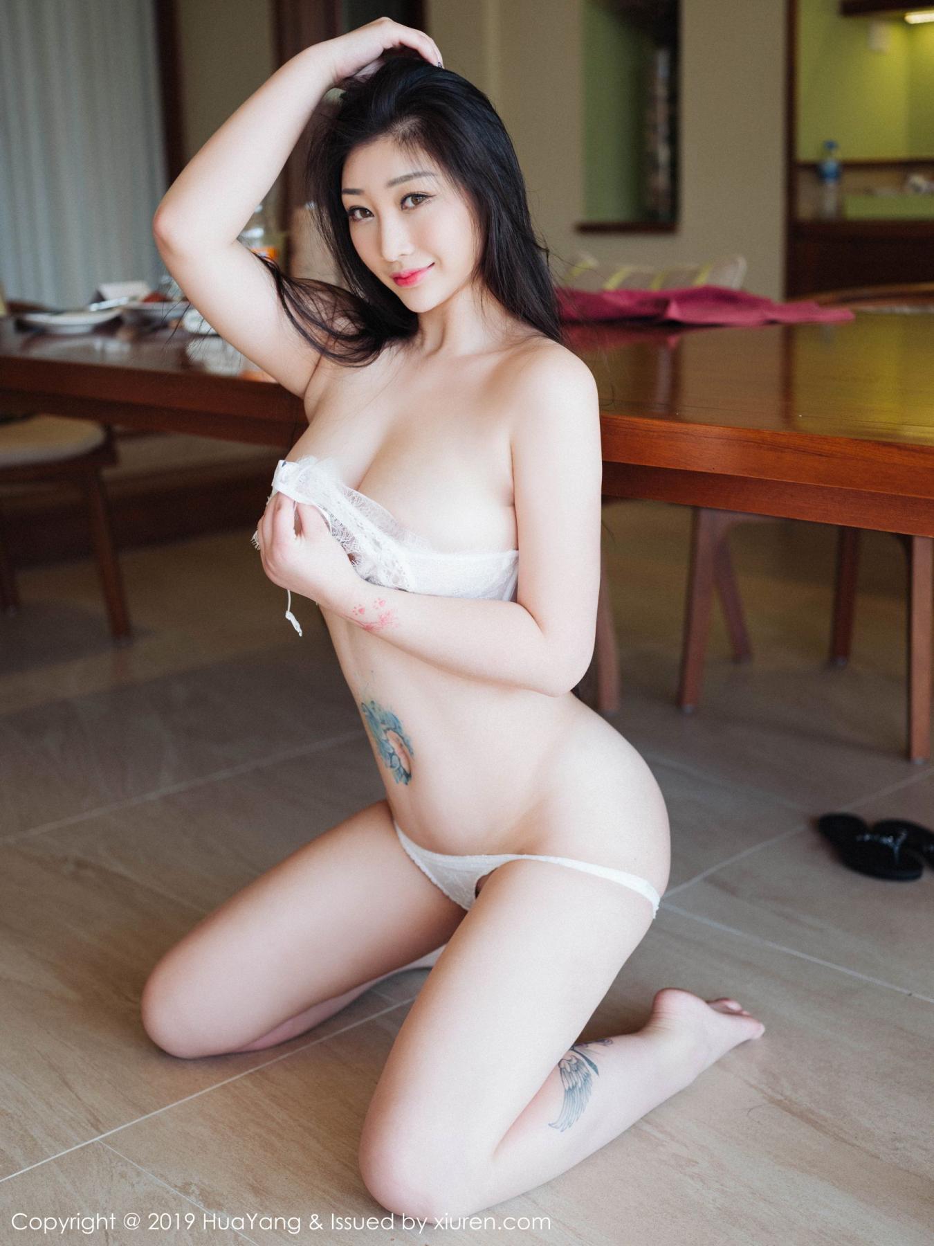 [Huayang] Vol.132 Da Ji Toxic 32P, Adult, Big Booty, Da Ji Toxic, HuaYang, Underwear