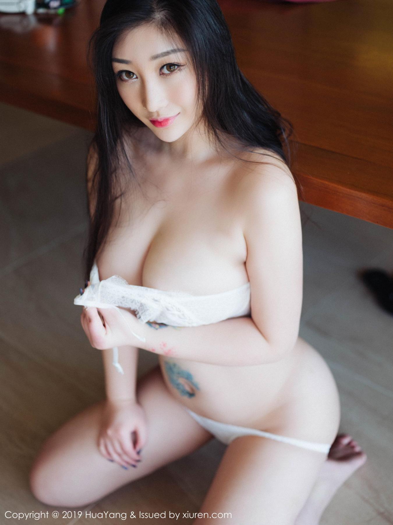 [Huayang] Vol.132 Da Ji Toxic 35P, Adult, Big Booty, Da Ji Toxic, HuaYang, Underwear