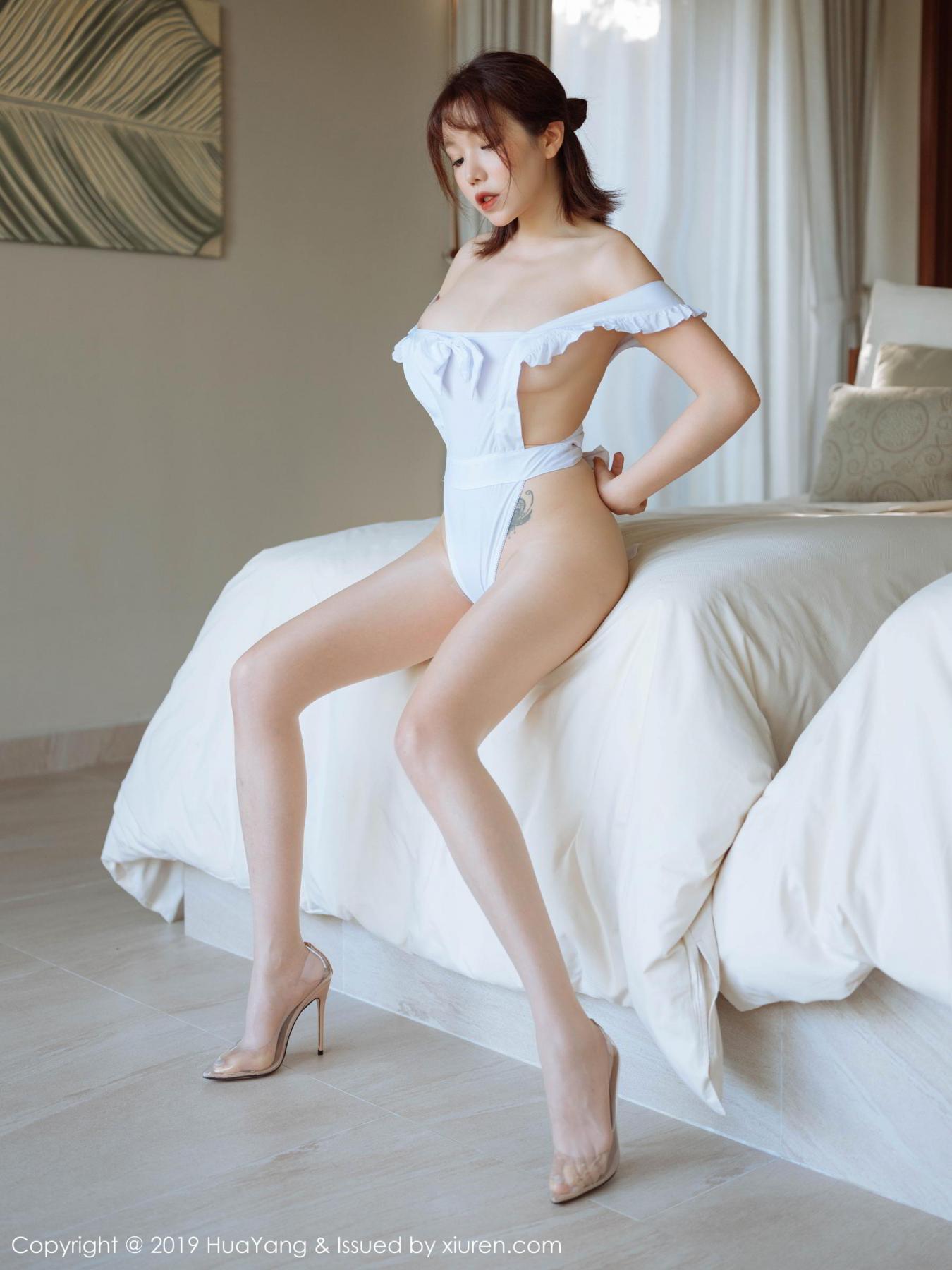 [Huayang] Vol.134 Huang Le Ran 14P, Huang Le Ran, HuaYang, Maid, Sexy