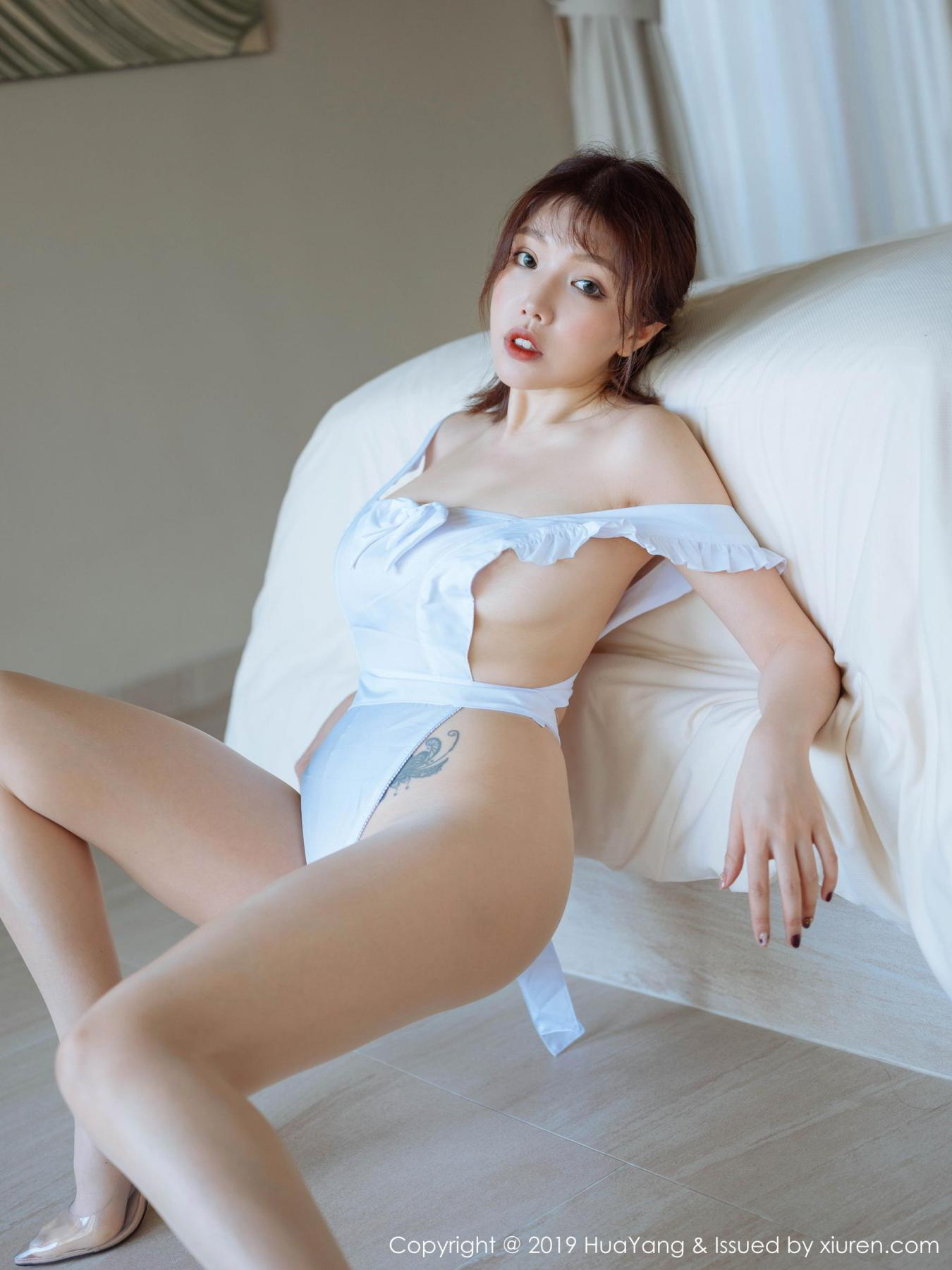 [Huayang] Vol.134 Huang Le Ran 15P, Huang Le Ran, HuaYang, Maid, Sexy