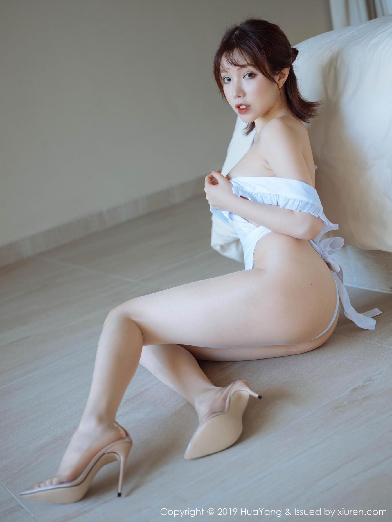 [Huayang] Vol.134 Huang Le Ran 17P, Huang Le Ran, HuaYang, Maid, Sexy