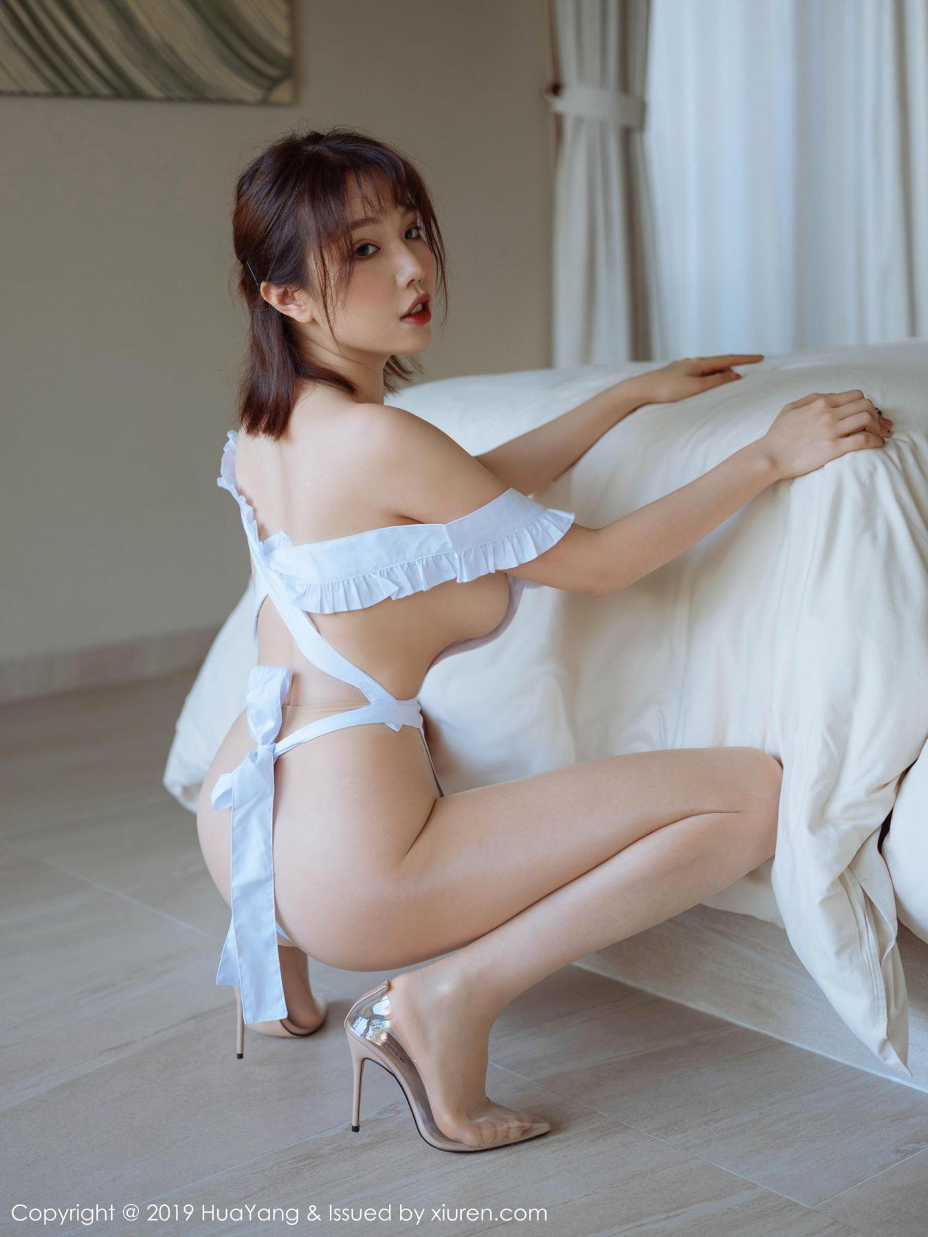 [Huayang] Vol.134 Huang Le Ran 19P, Huang Le Ran, HuaYang, Maid, Sexy