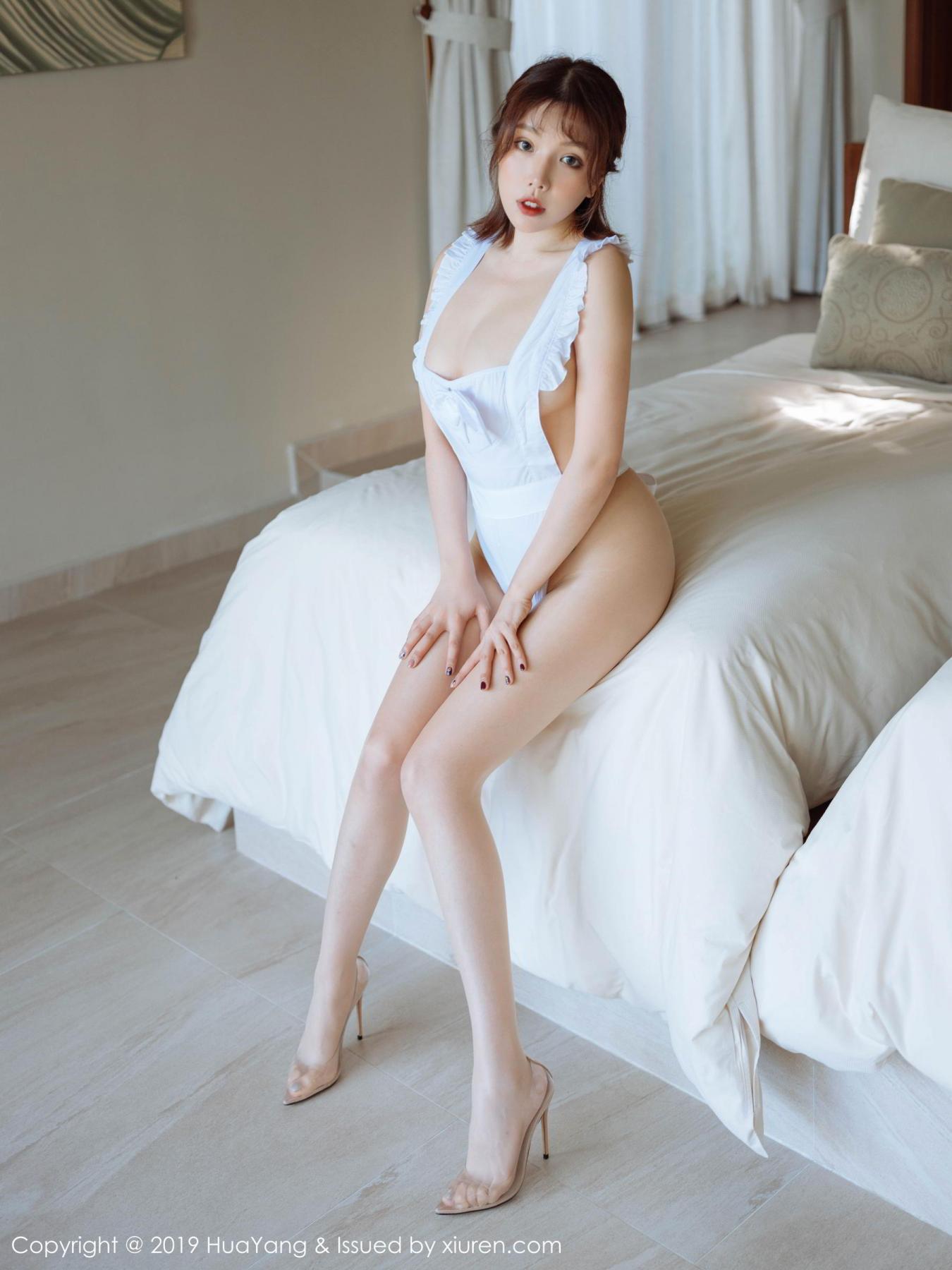 [Huayang] Vol.134 Huang Le Ran 1P, Huang Le Ran, HuaYang, Maid, Sexy