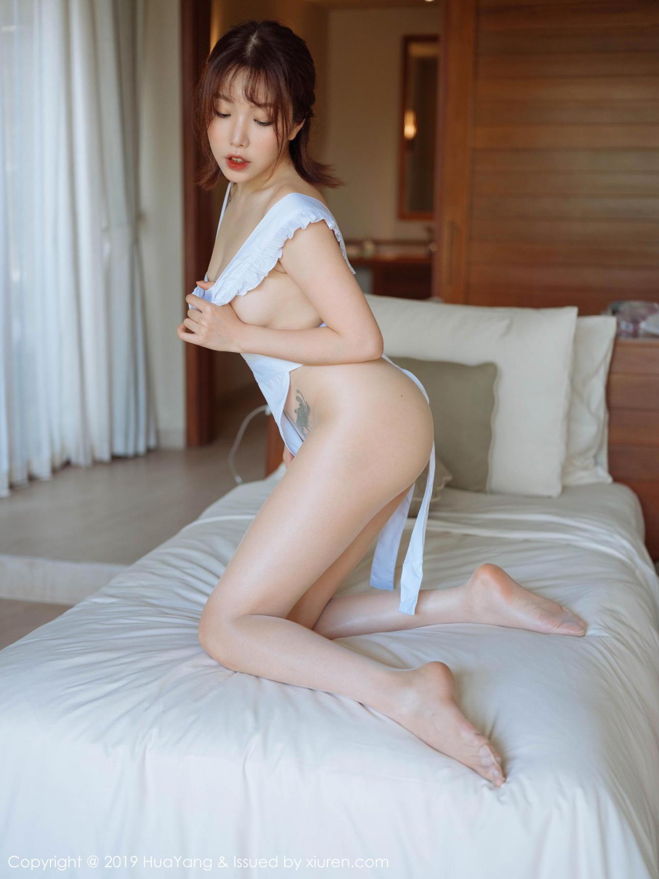[Huayang] Vol.134 Huang Le Ran 28P, Huang Le Ran, HuaYang, Maid, Sexy
