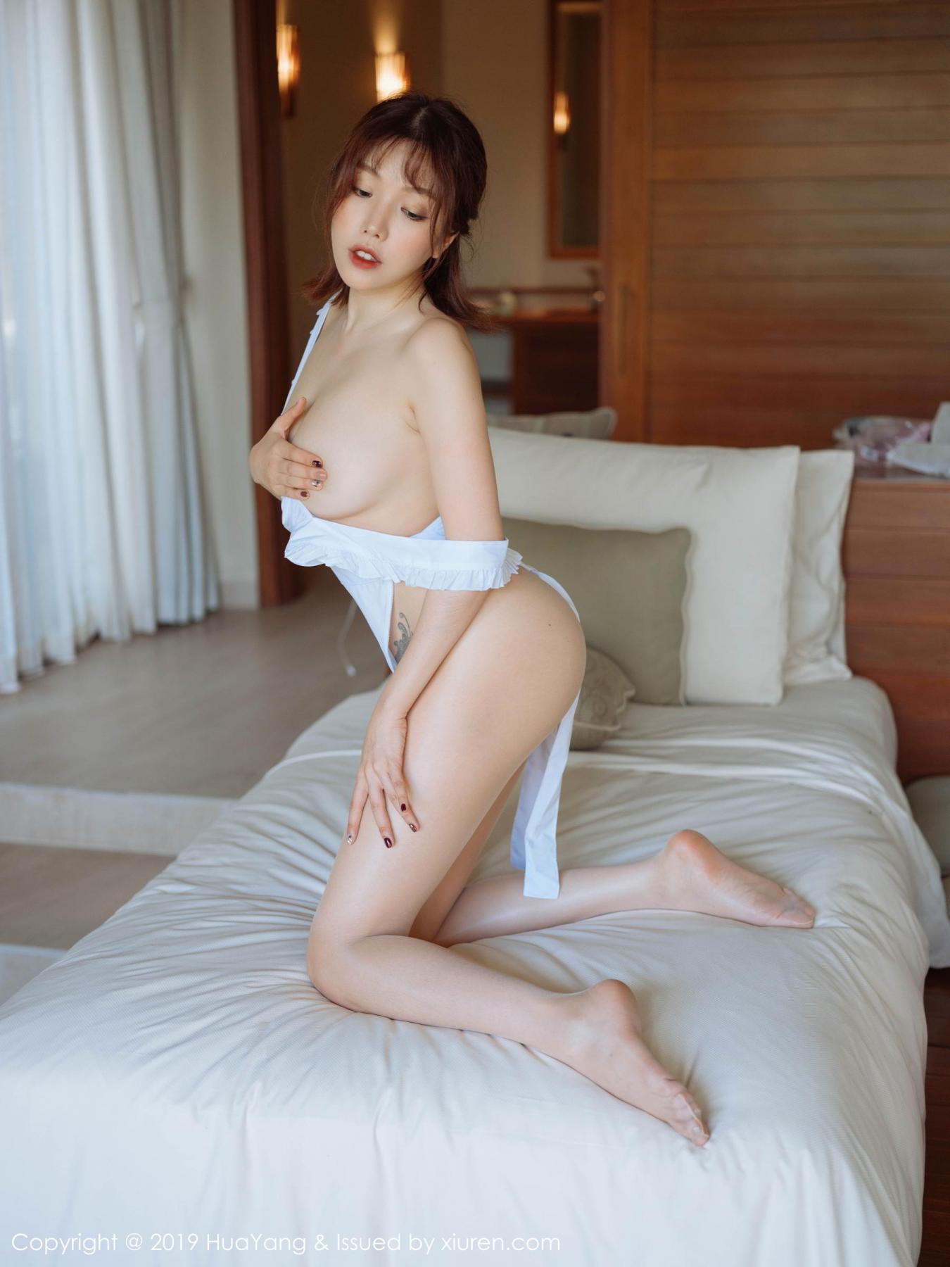[Huayang] Vol.134 Huang Le Ran 29P, Huang Le Ran, HuaYang, Maid, Sexy