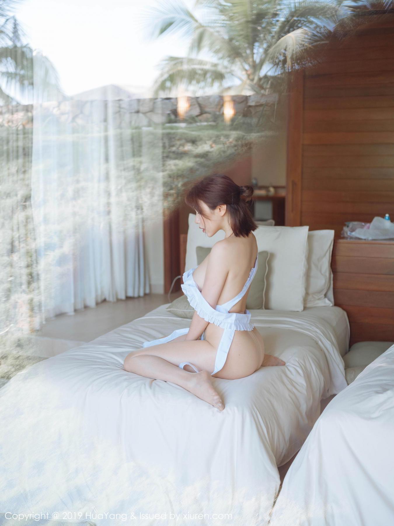 [Huayang] Vol.134 Huang Le Ran 32P, Huang Le Ran, HuaYang, Maid, Sexy