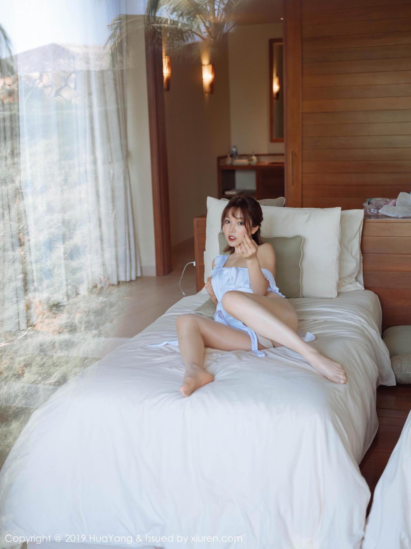 [Huayang] Vol.134 Huang Le Ran 37P, Huang Le Ran, HuaYang, Maid, Sexy
