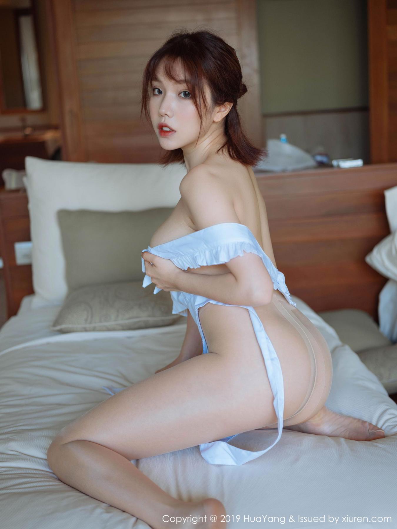 [Huayang] Vol.134 Huang Le Ran 45P, Huang Le Ran, HuaYang, Maid, Sexy