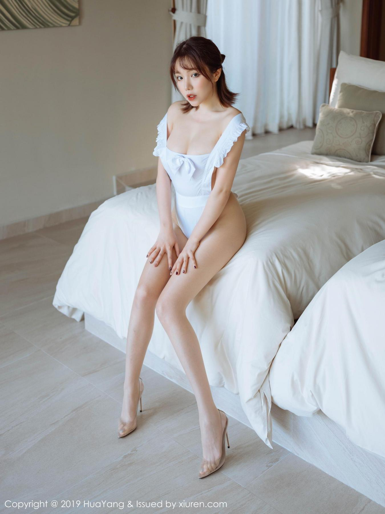 [Huayang] Vol.134 Huang Le Ran 9P, Huang Le Ran, HuaYang, Maid, Sexy