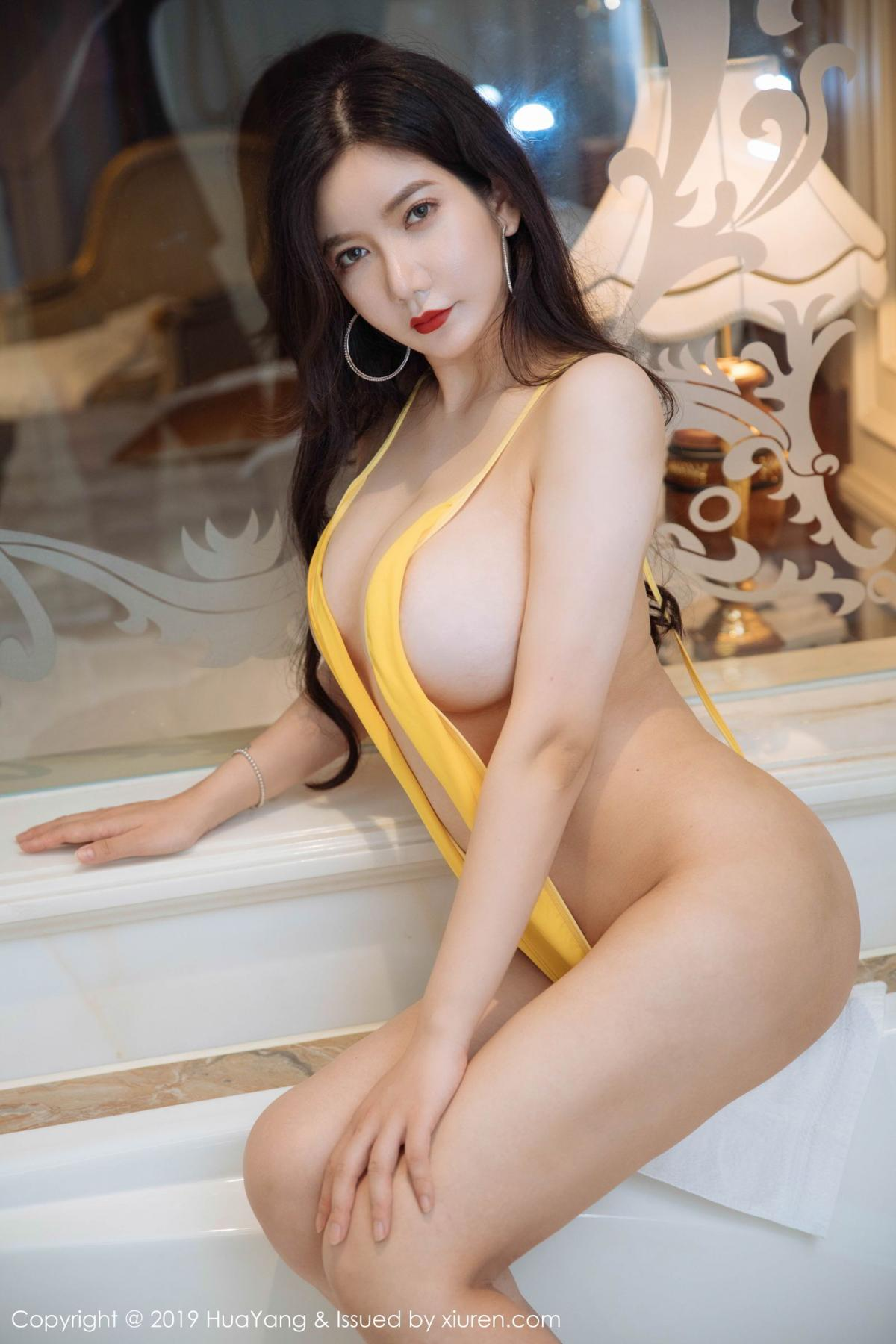 [Huayang] Vol.136 Li Yan Xi 12P, Bikini, Black Silk, HuaYang, Li Yan Xi