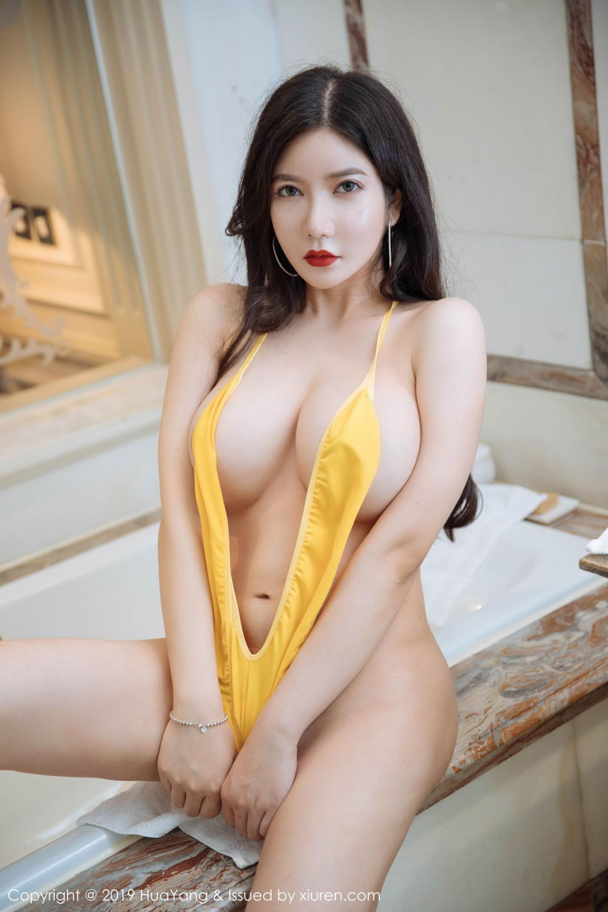 [Huayang] Vol.136 Li Yan Xi 25P, Bikini, Black Silk, HuaYang, Li Yan Xi