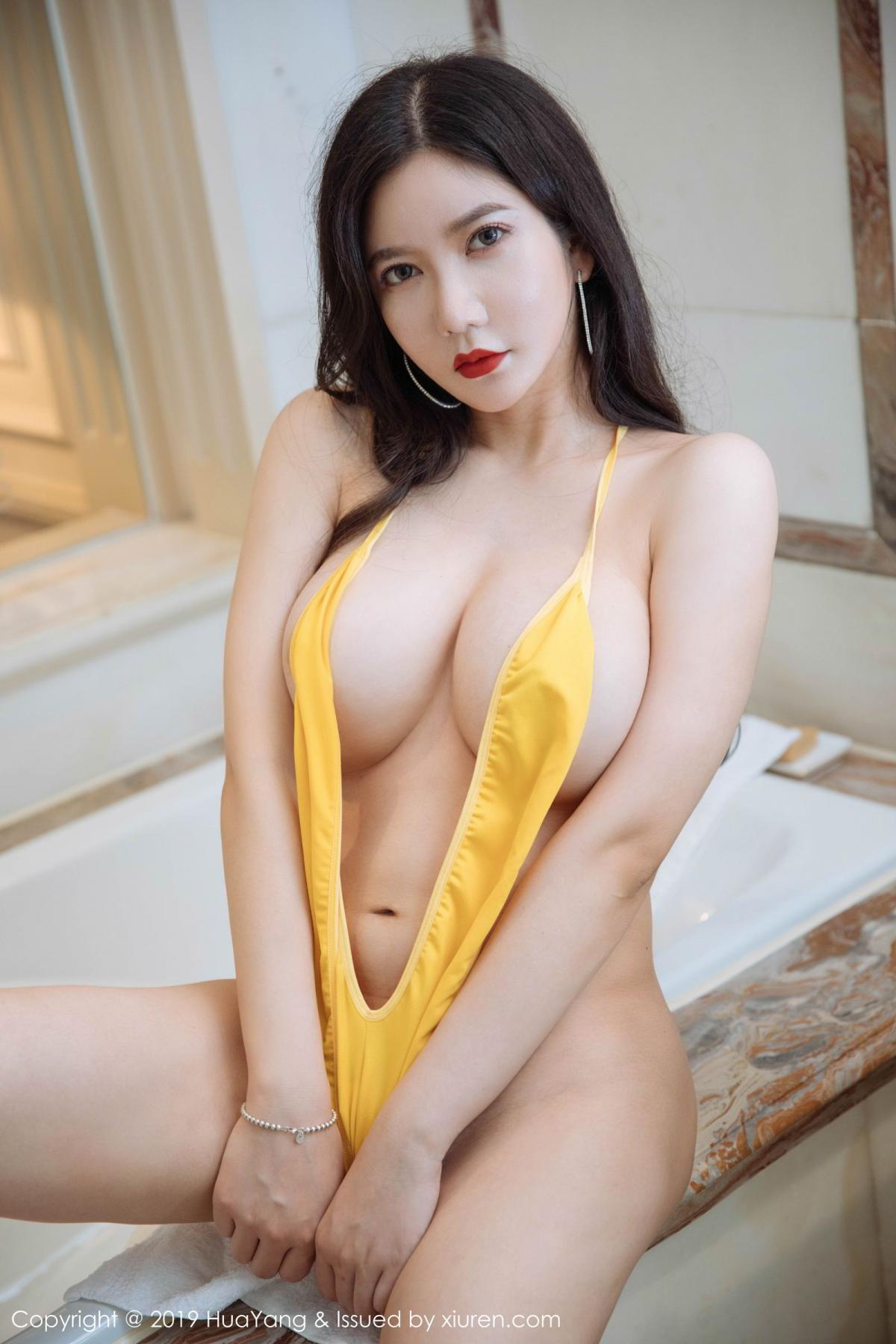[Huayang] Vol.136 Li Yan Xi 26P, Bikini, Black Silk, HuaYang, Li Yan Xi