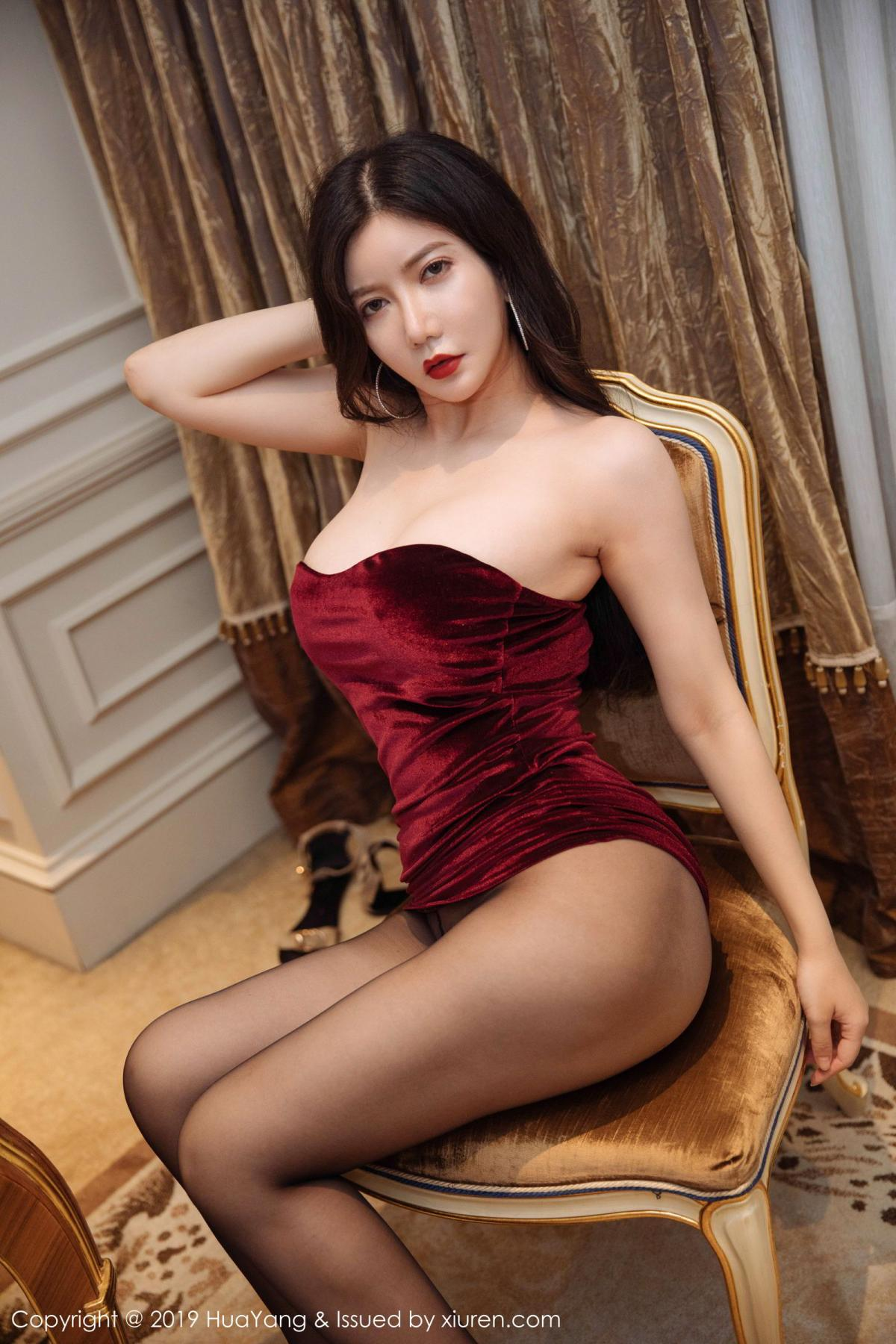 [Huayang] Vol.136 Li Yan Xi 29P, Bikini, Black Silk, HuaYang, Li Yan Xi
