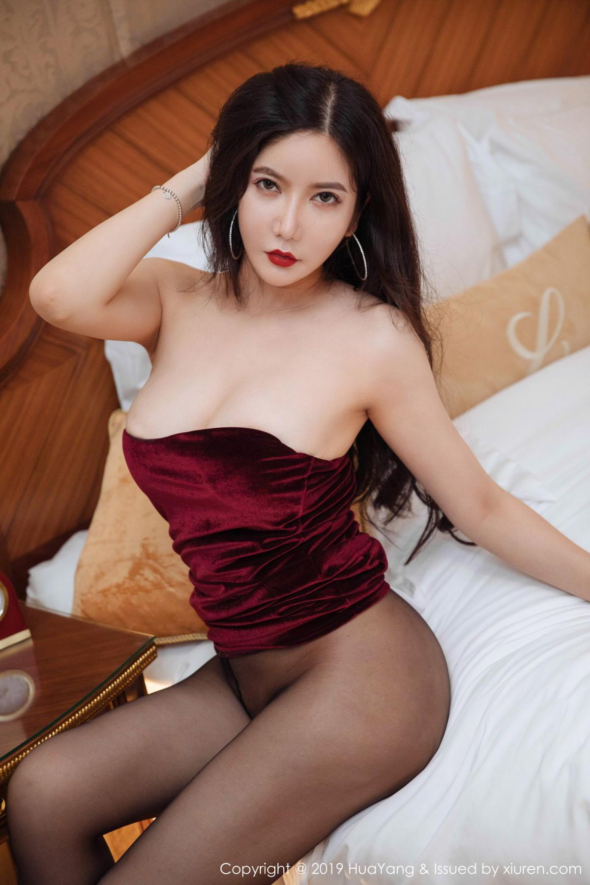 [Huayang] Vol.136 Li Yan Xi 40P, Bikini, Black Silk, HuaYang, Li Yan Xi