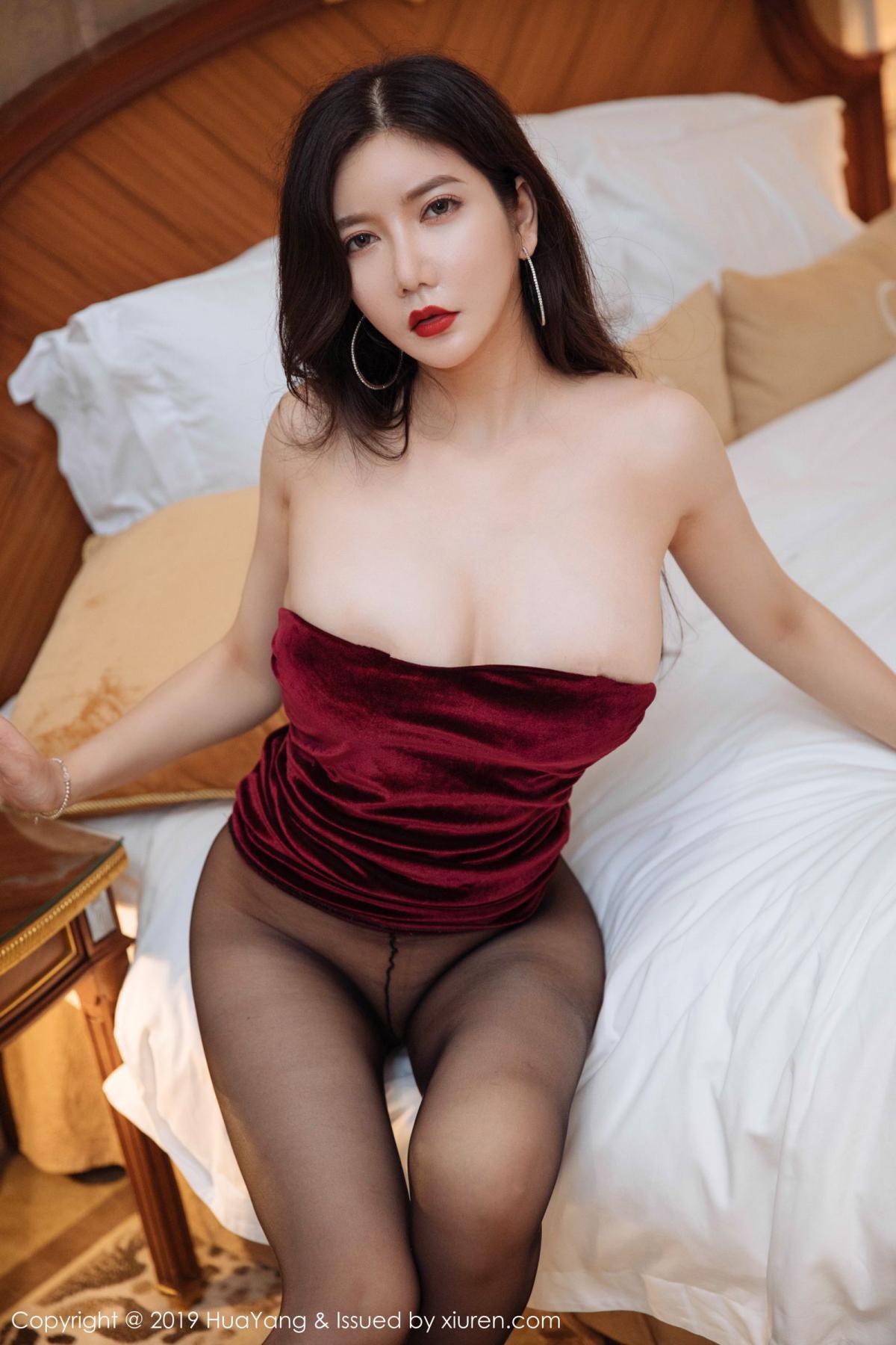 [Huayang] Vol.136 Li Yan Xi 42P, Bikini, Black Silk, HuaYang, Li Yan Xi